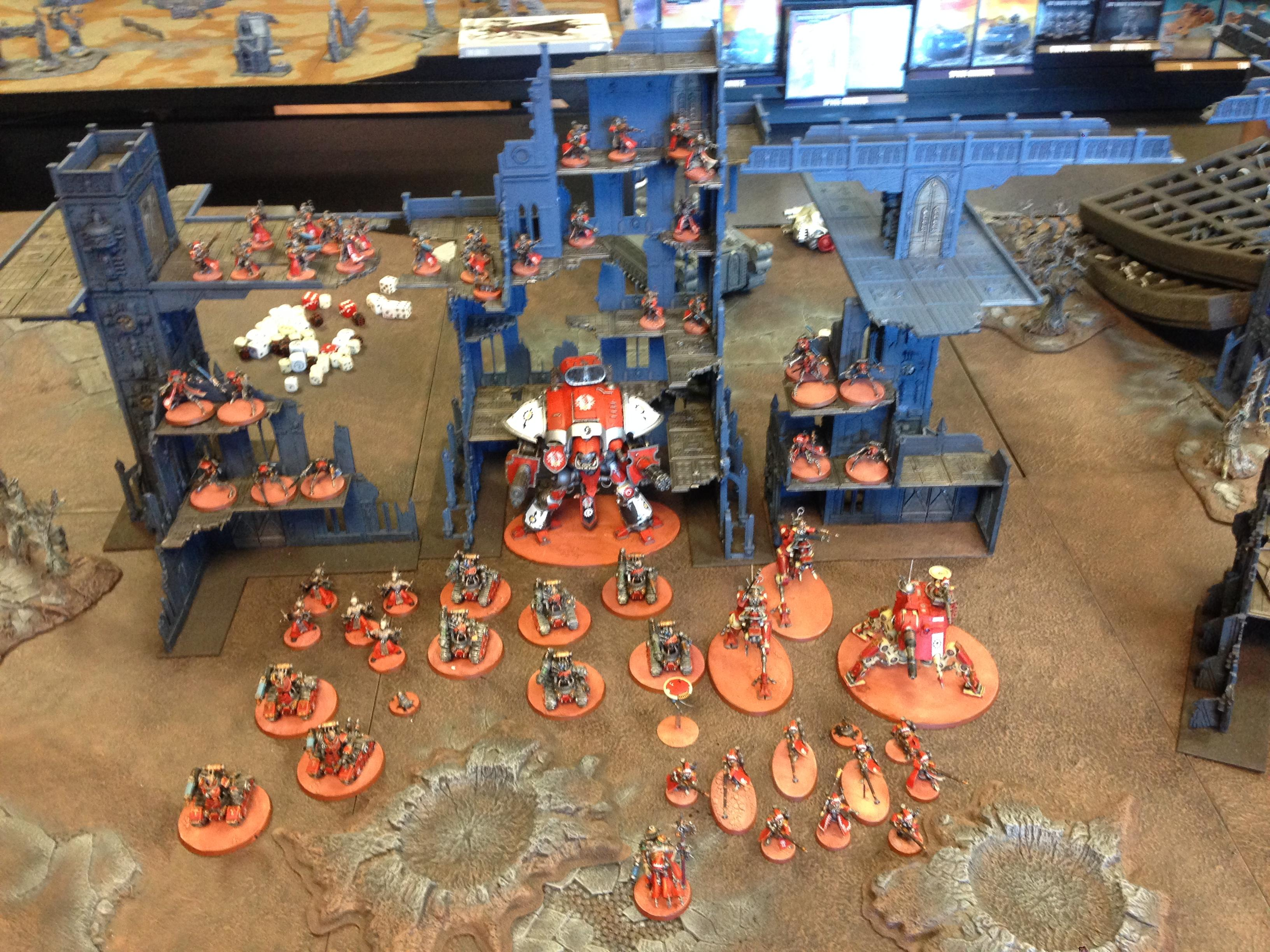 Admech, Army, Imperial Knight, Mars, Shot, Skitarii, Victory, Warhammer 40,000