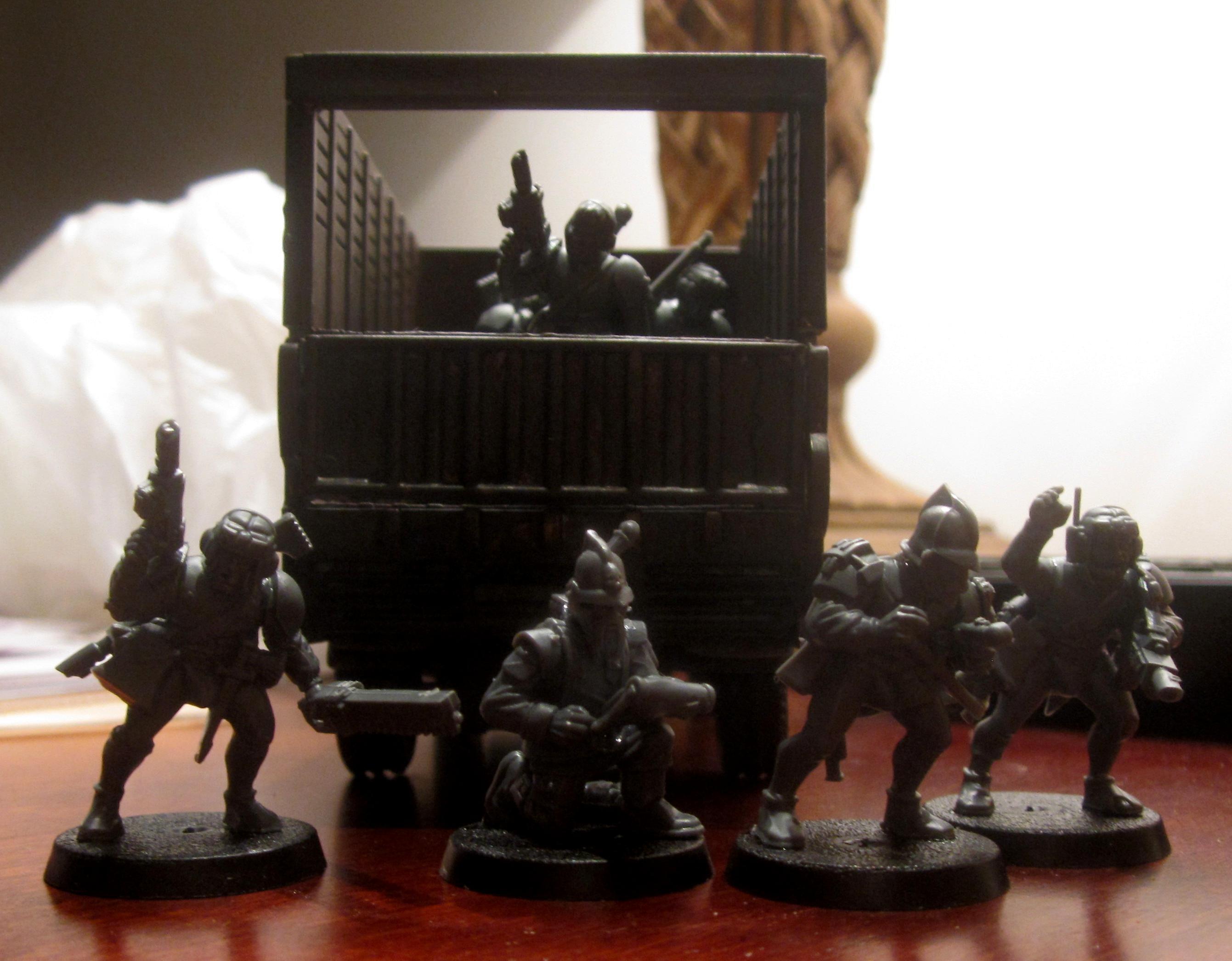 Adeptus Arbites, Civilian, Henchmen, Inquisition, Truck
