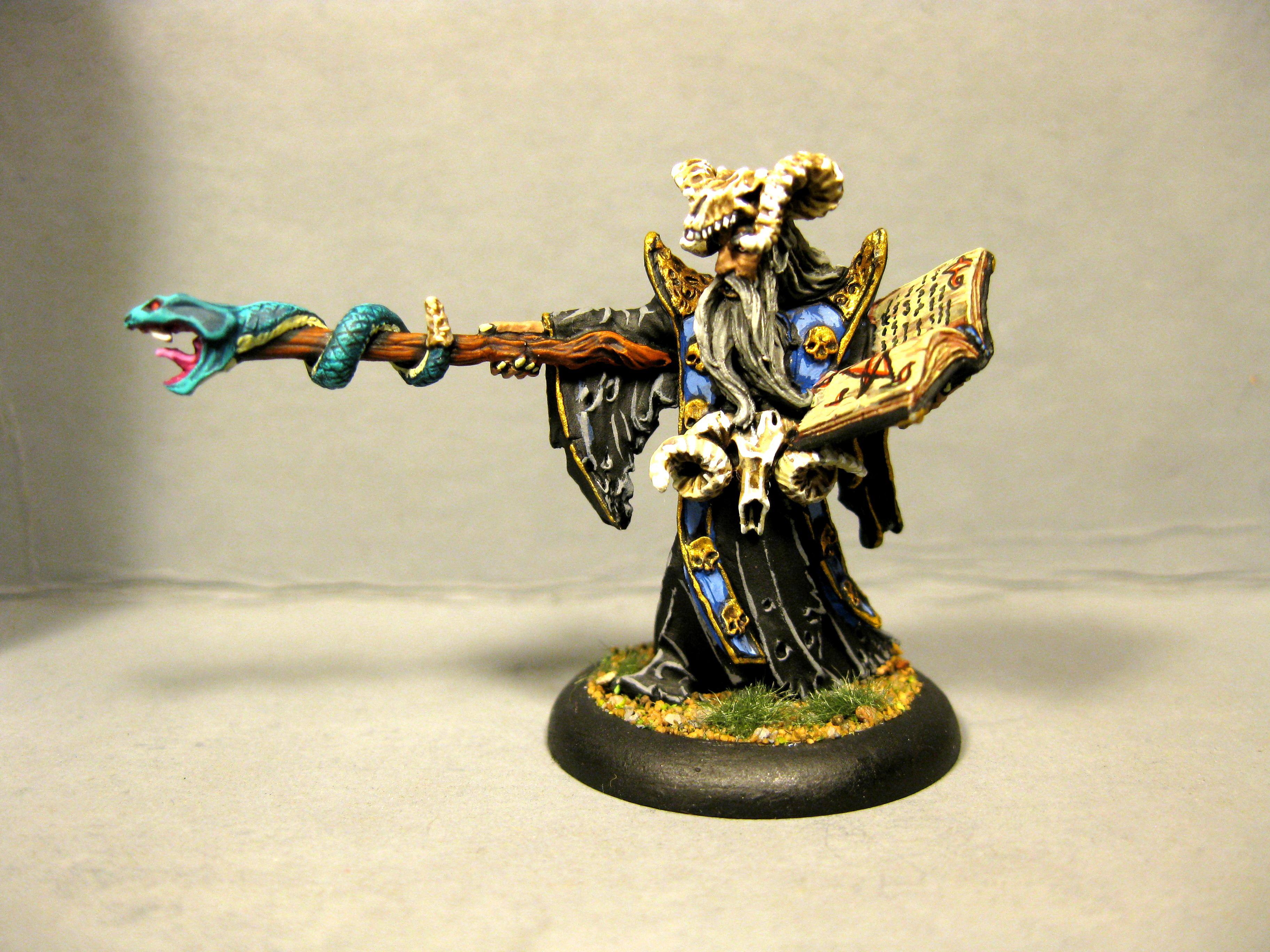 Dungeons & Dragons, Dungeons And Dragons, Necromancer, Reaper Miniatures, Rpg, Warlock