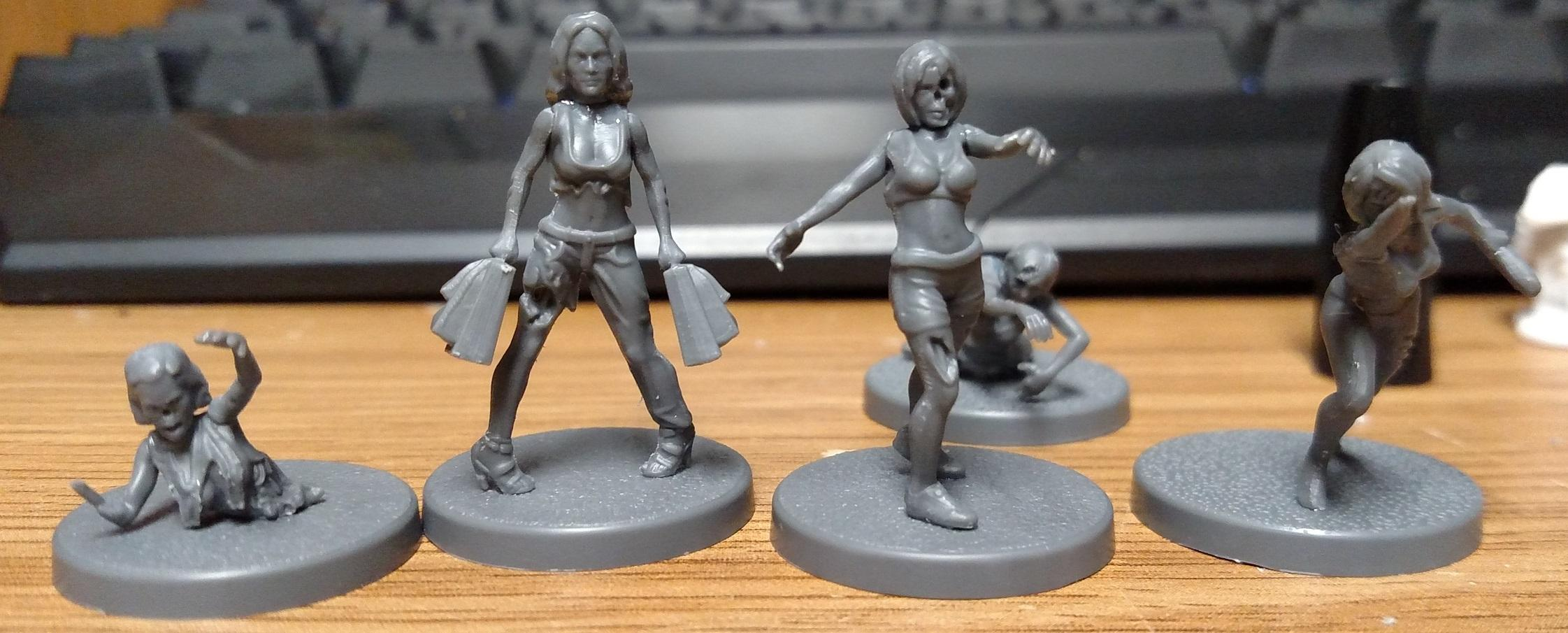Female, Wargames Factory, Zombie