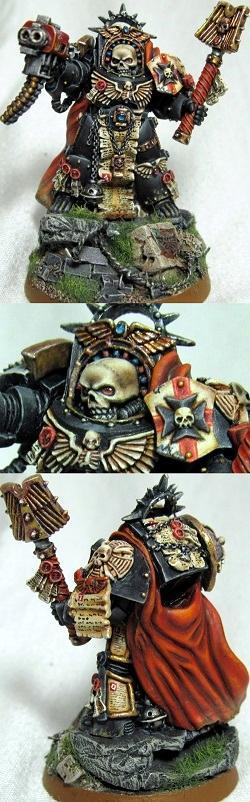 Black Templars, Chaplain, Templar, Terminator Armor