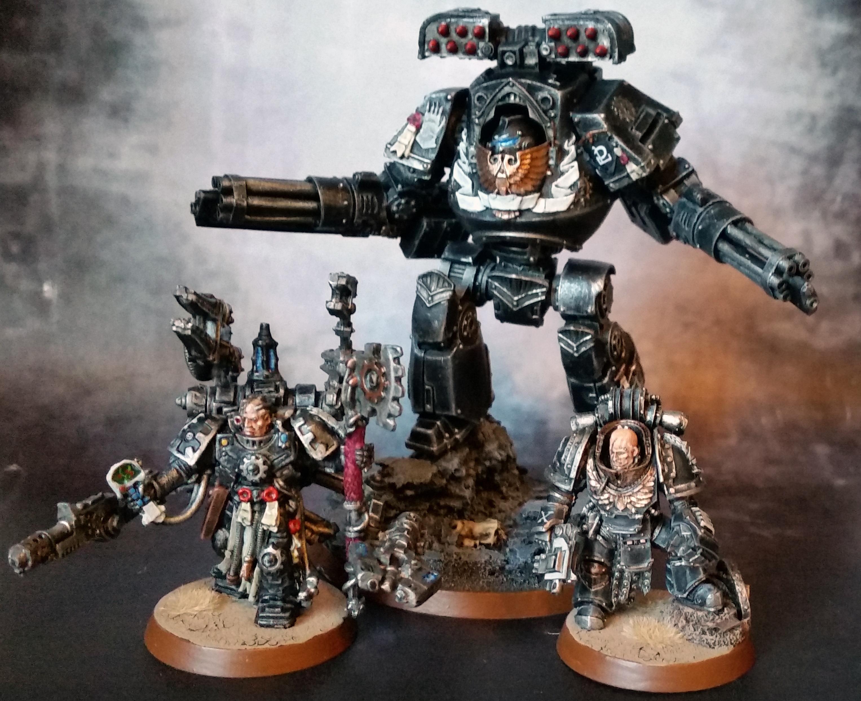 Iron Hands, Space Marines, Warhammer 40,000, Warhammer Fantasy