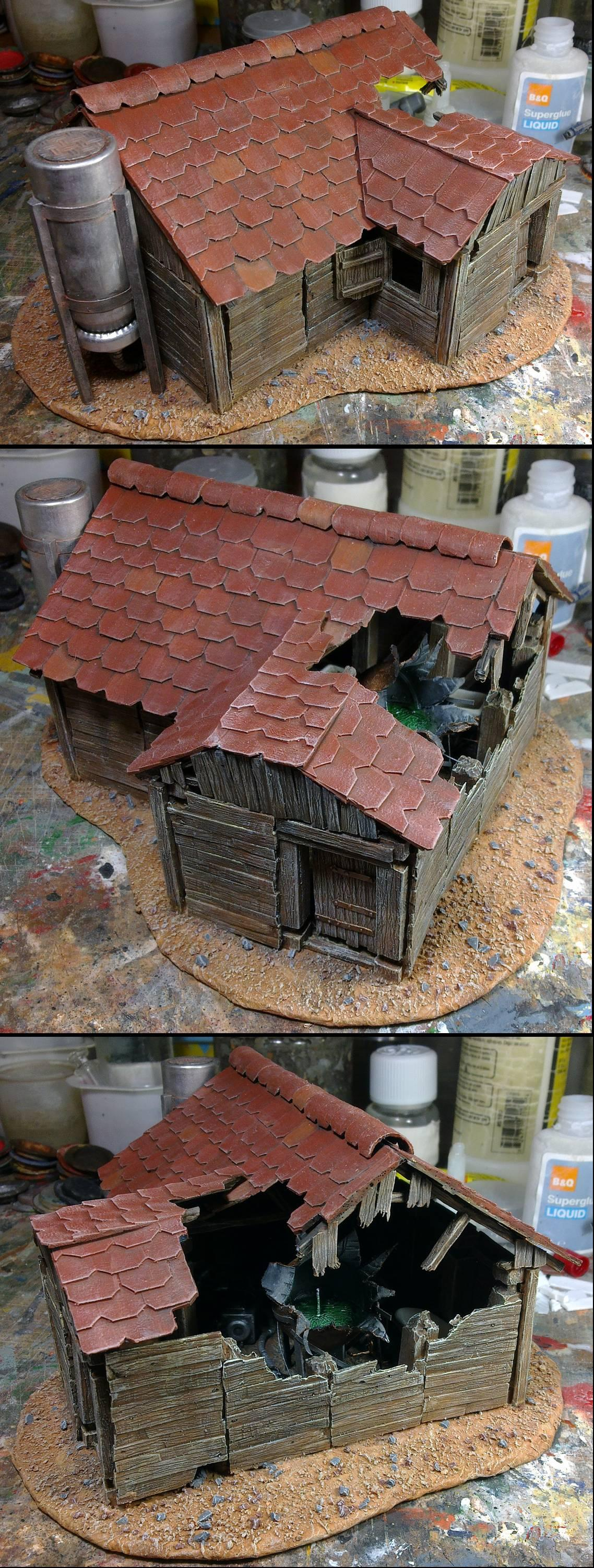 Alternate hut wip 14; back to red