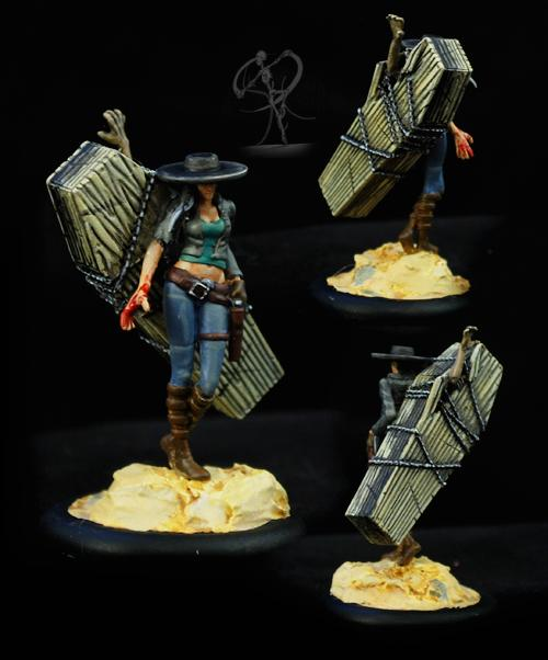 Coffin, Female, Limited, Miss Terious, Non-Metallic Metal, Resurrectionists, Weird West, Western, Wyrd