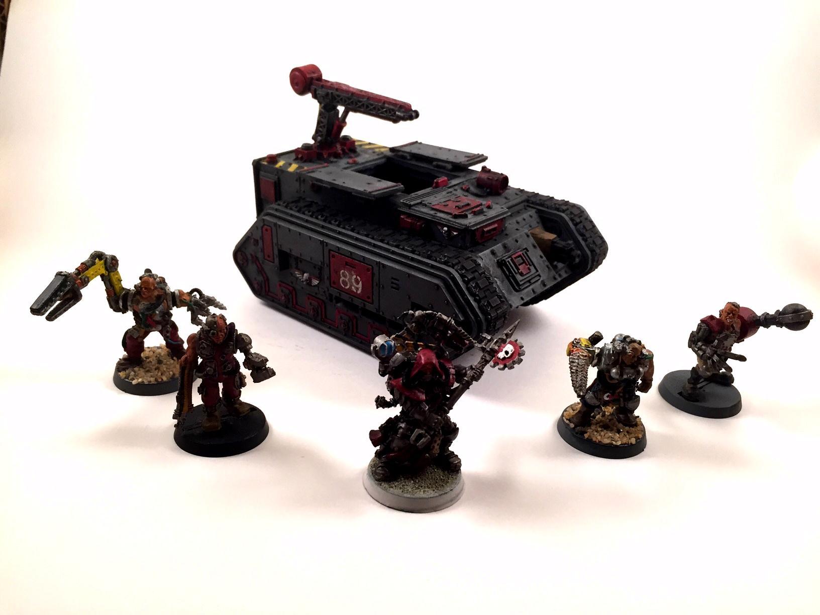 Servitors, Tech Priest, Trojan