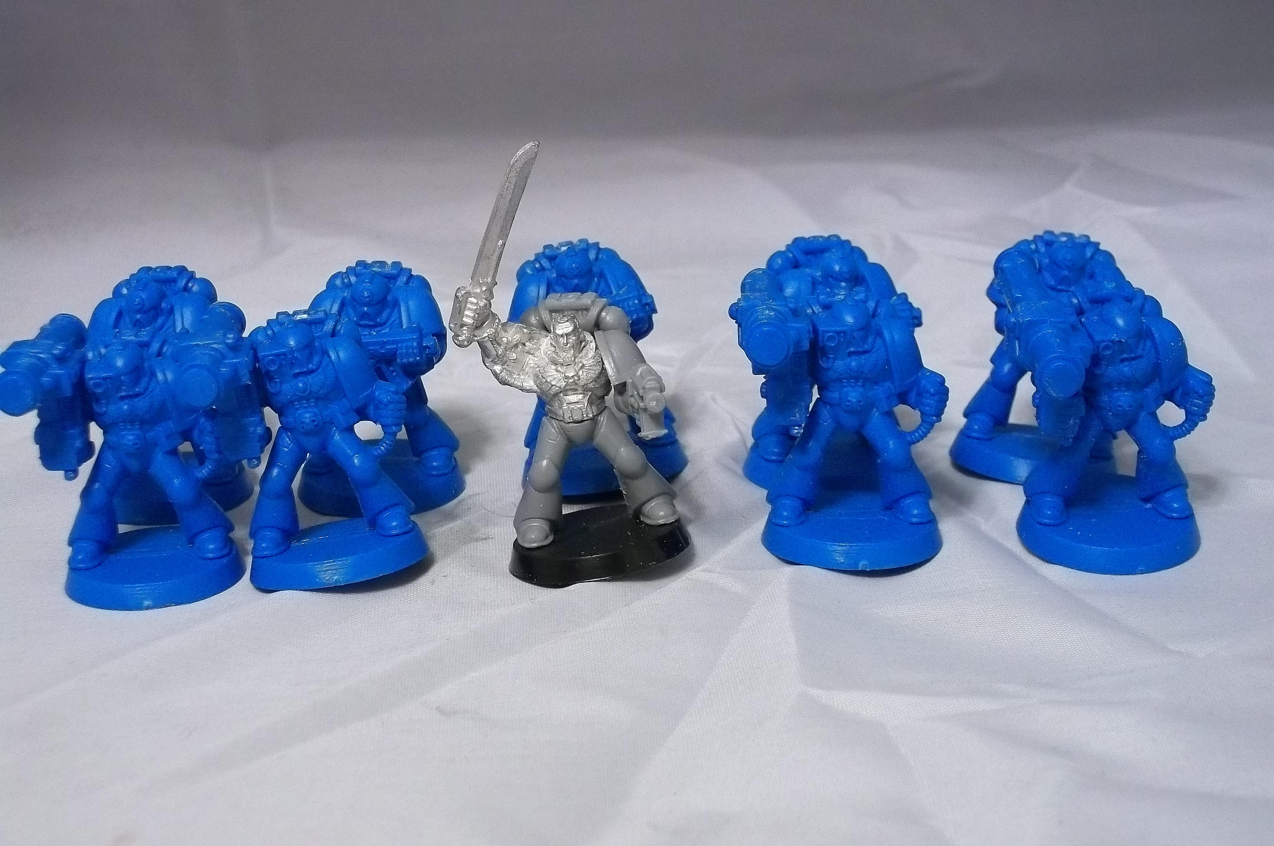 2nd Edition, Out Of Production, Retro, Space Marines, Ultramarines
