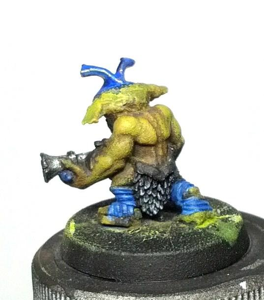 Custom, Greenstuff, Gretchen, Gretchin, Grots, Orks, Work In Progress