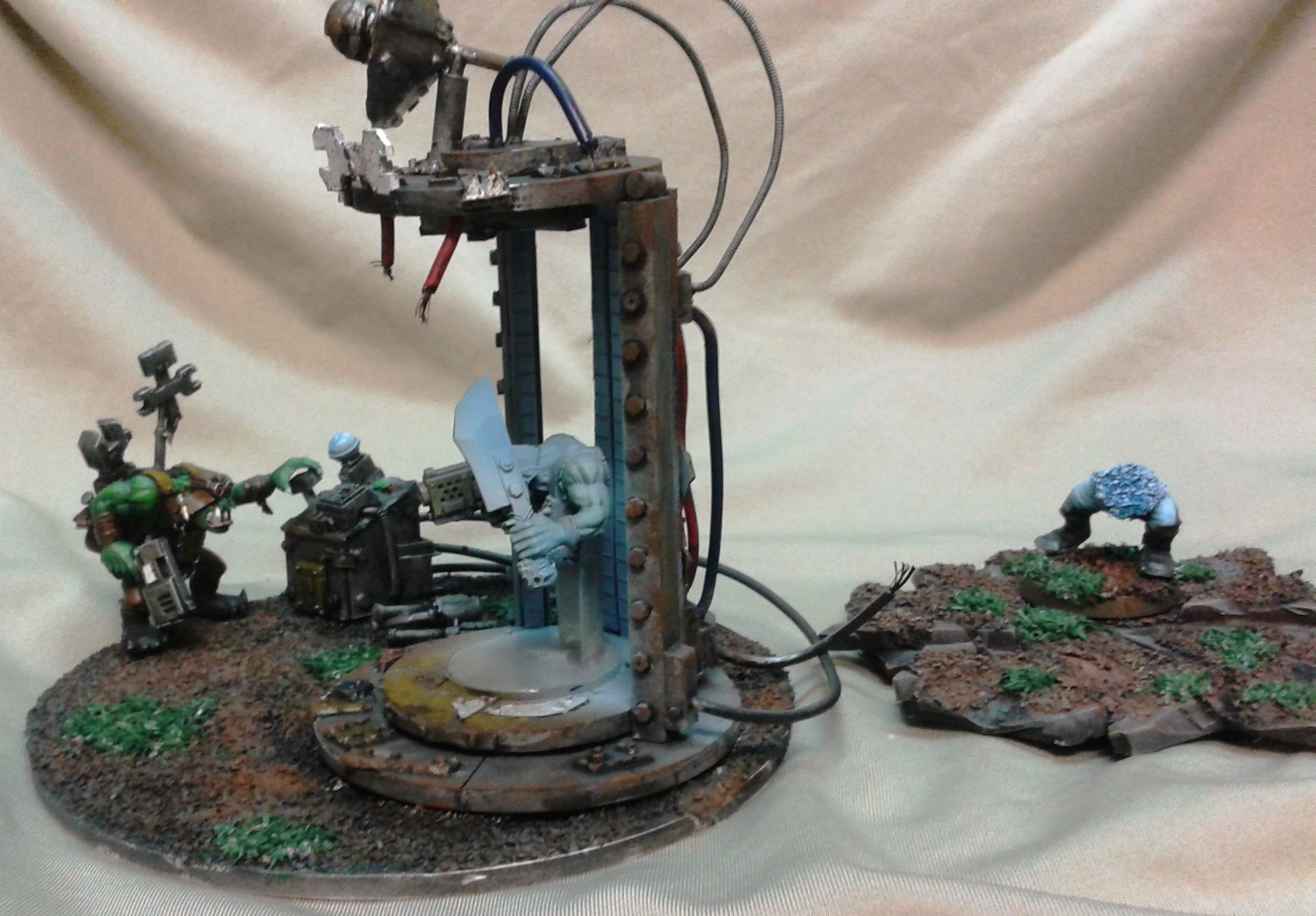 Bad Moons, Big Mek, Conversion, Evil Suns, Green, Orks, Scratch, Technology, Teleporter, Tellyporta