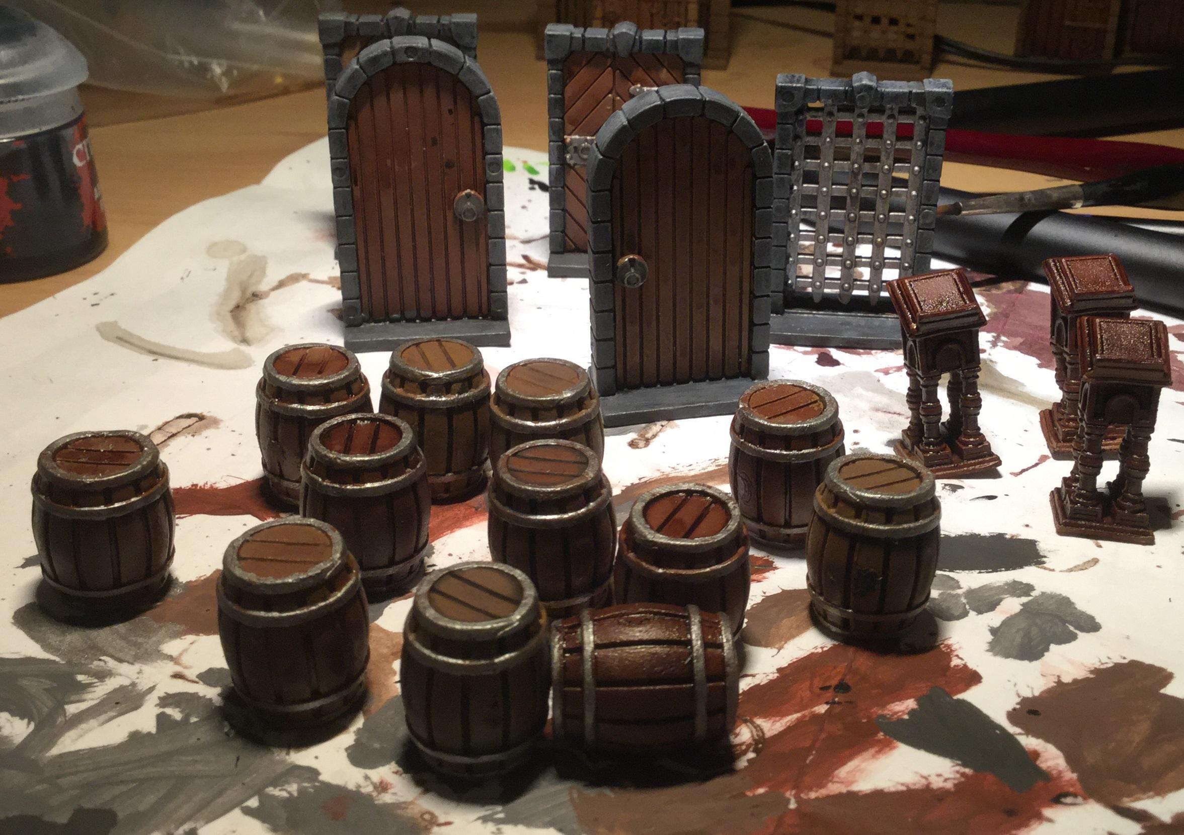 Barrels and Doors