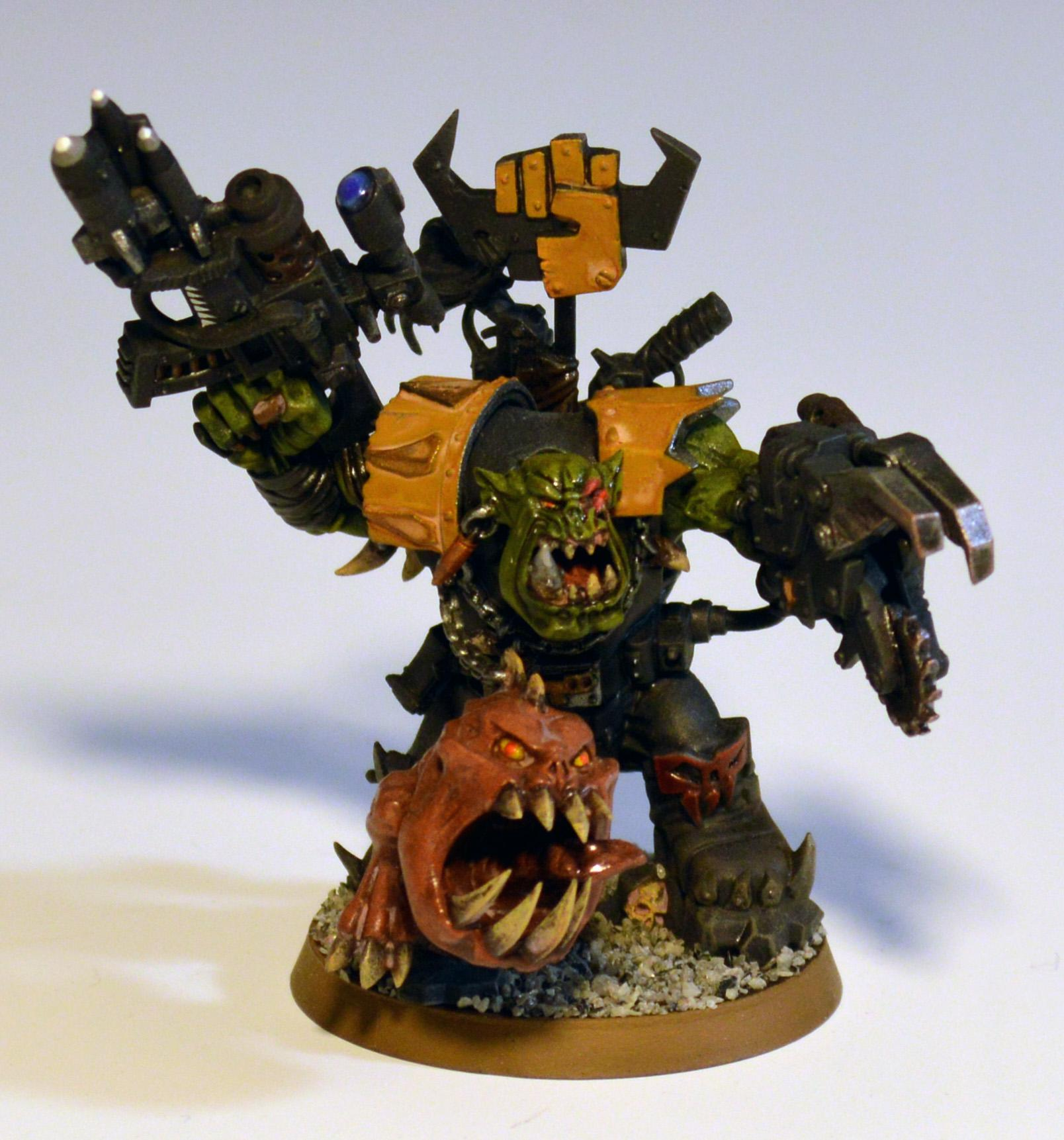 Grukk Face-rippa, Orks, Warboss, Warhammer 40,000