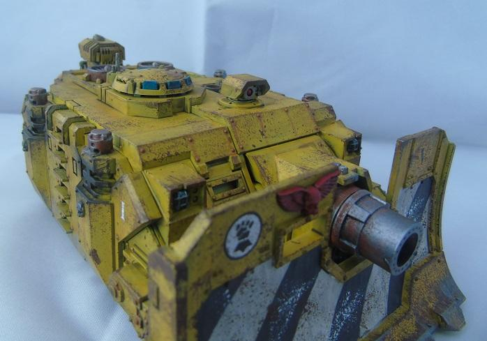 Adepus Astartes, Battle Damage, City, Imperial Fists, Rubble, Ruins, Space Marines, Urban, Vindicators, Weathered, Yellow