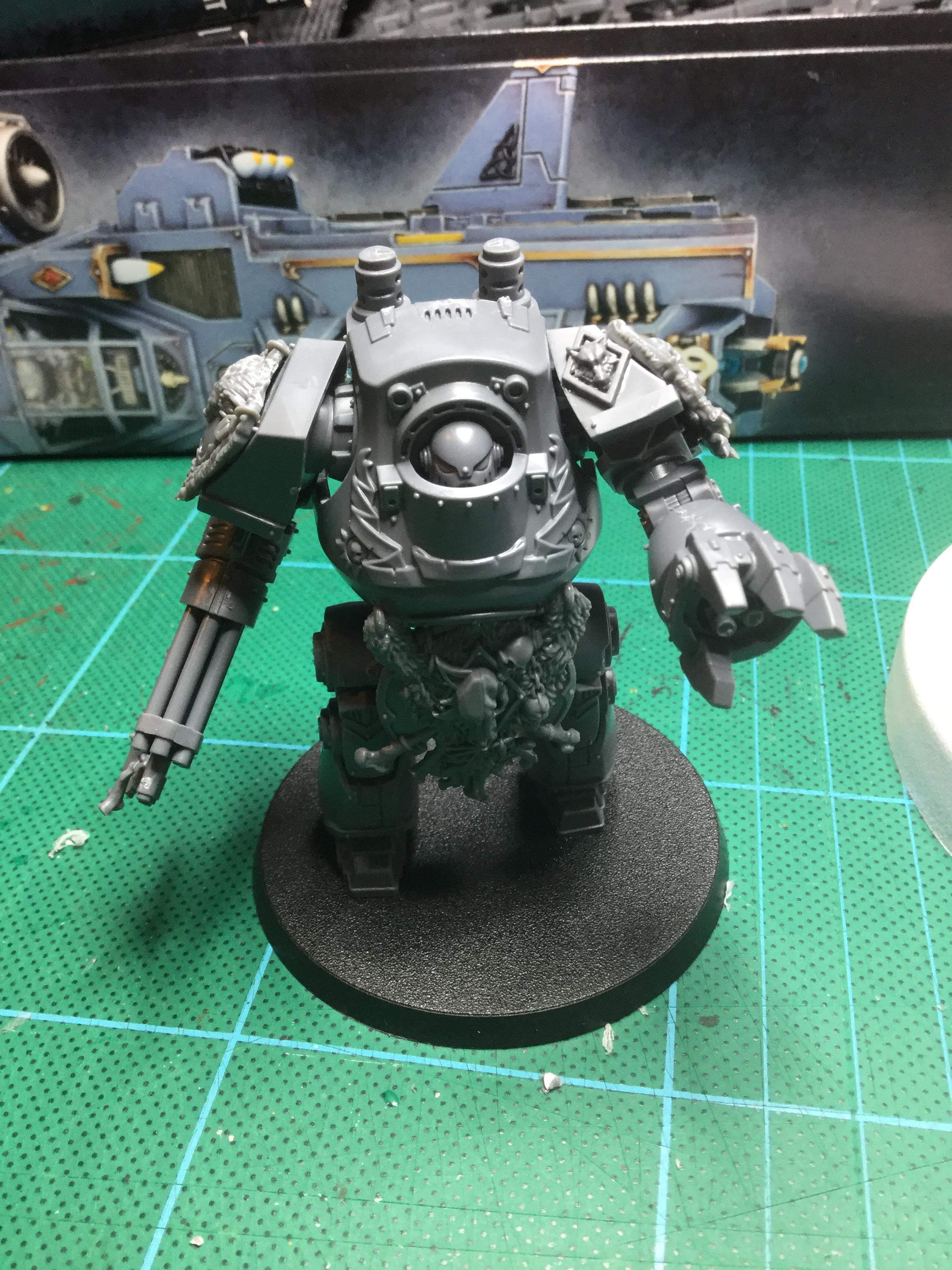 30k space wolf contemptor dread front