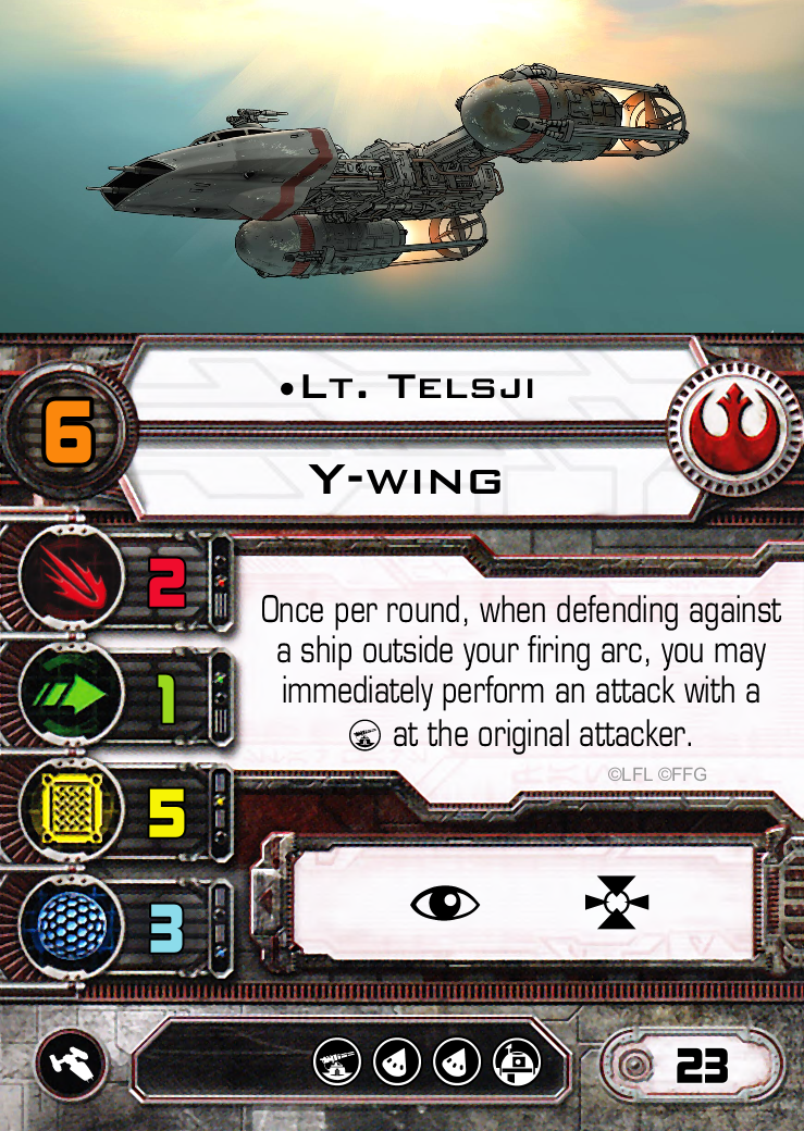 Star Wars, X-Wing, Y-wing