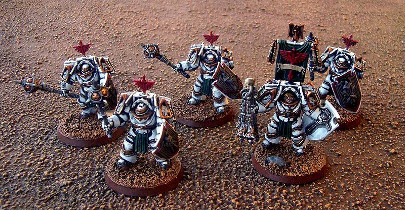 Belial, Dark Angels, Deathwing, Deathwing Knights, Land Raider, Land Raider Are, Space Marines, Terminator Armor