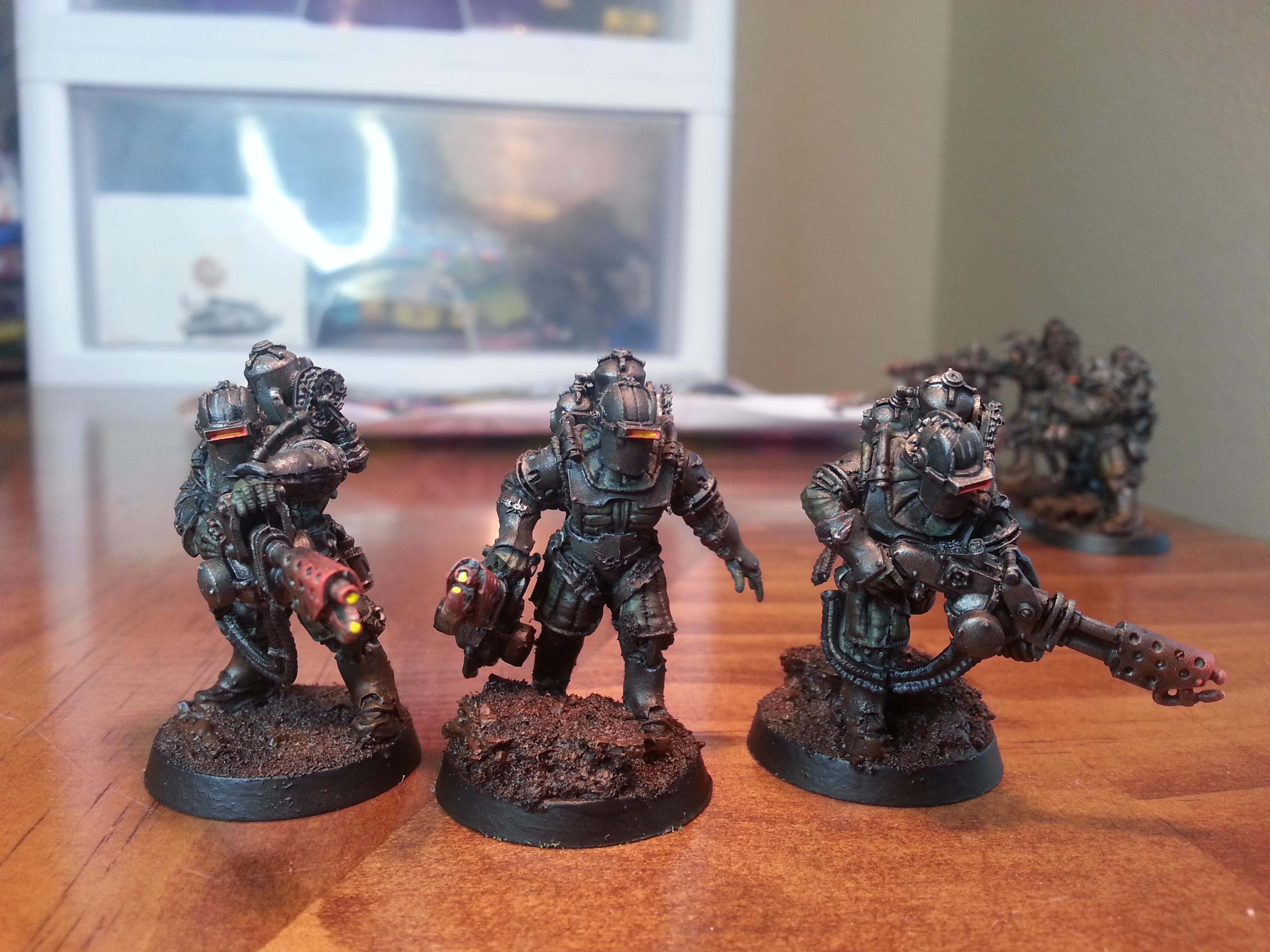 30k, Solar Auxilia, Solar Auxilia flamer squad