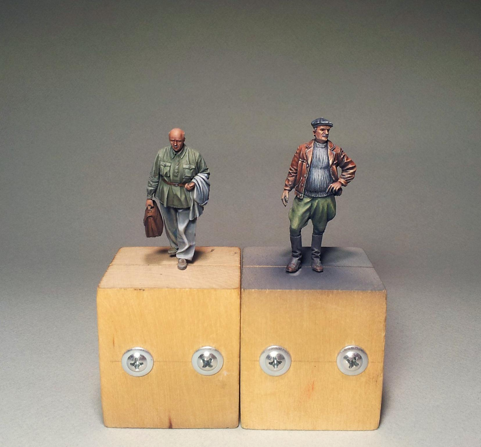 1/35, Historical, Clerc and driver