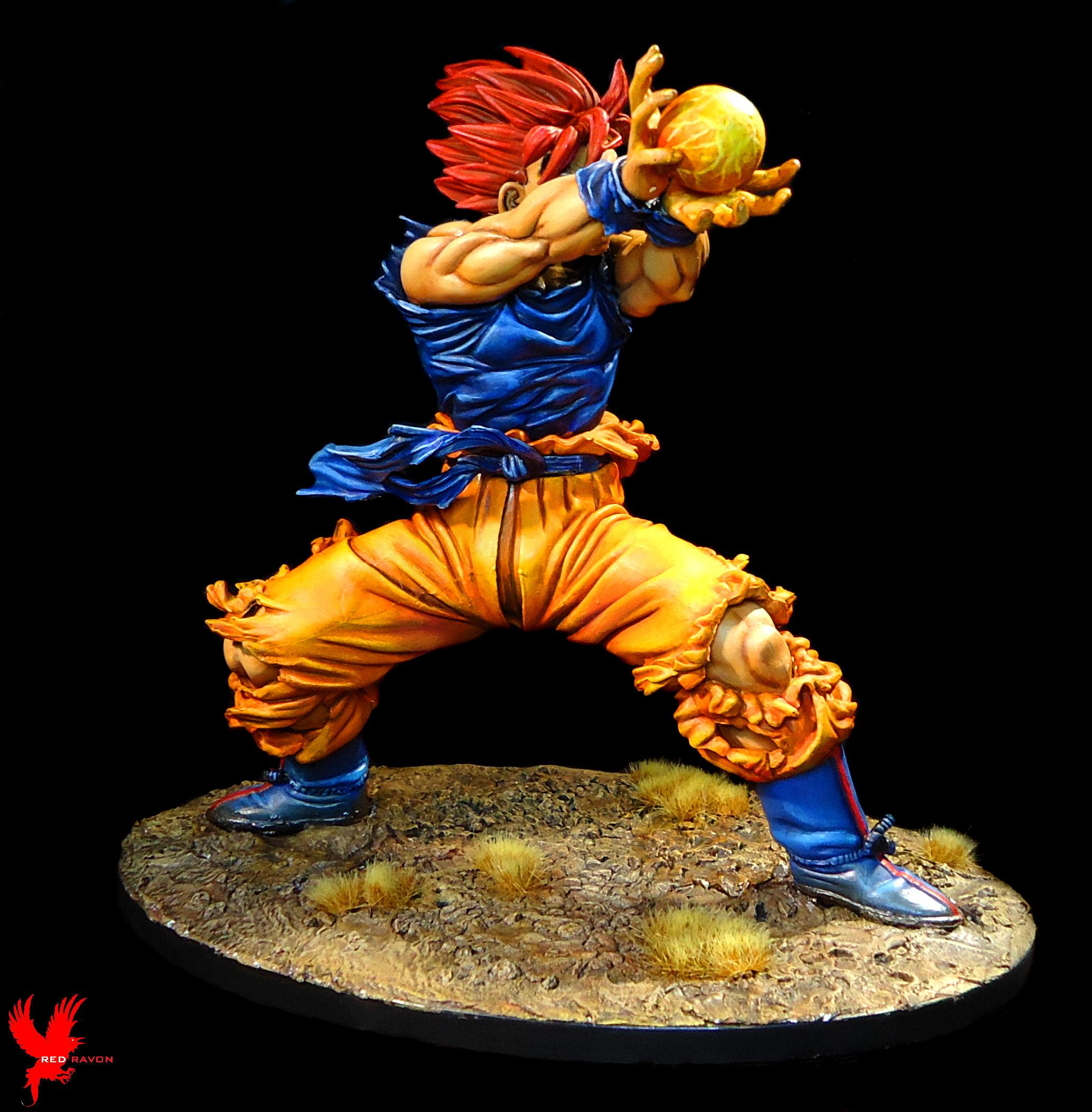 Cartoon, Commission, Dbz, Dragonball Z, Goku, Japanese, Make Over, Super Saiyan, Toy