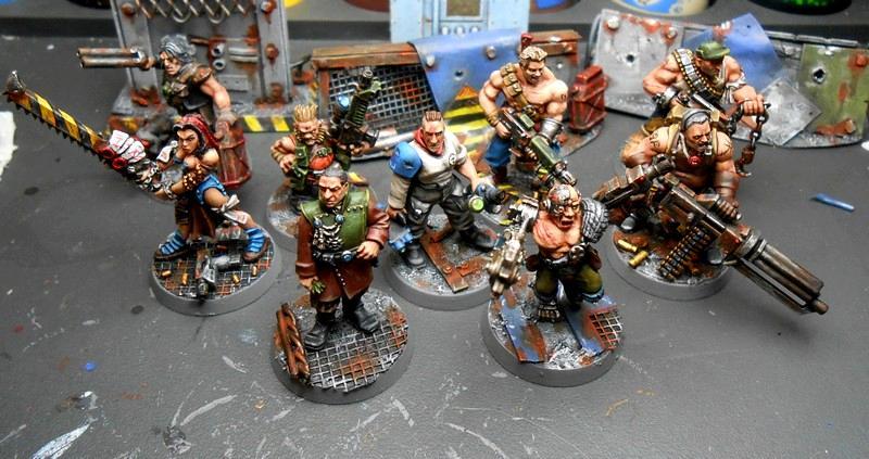 Gang, Ganger, Guild, Guilder, Necromunda