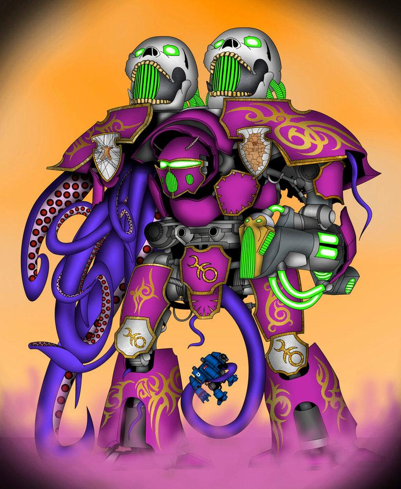 Artwork, Digital, Drawing, Noiselord, Painlord, Painting, Slaanesh, Titan, Warlord