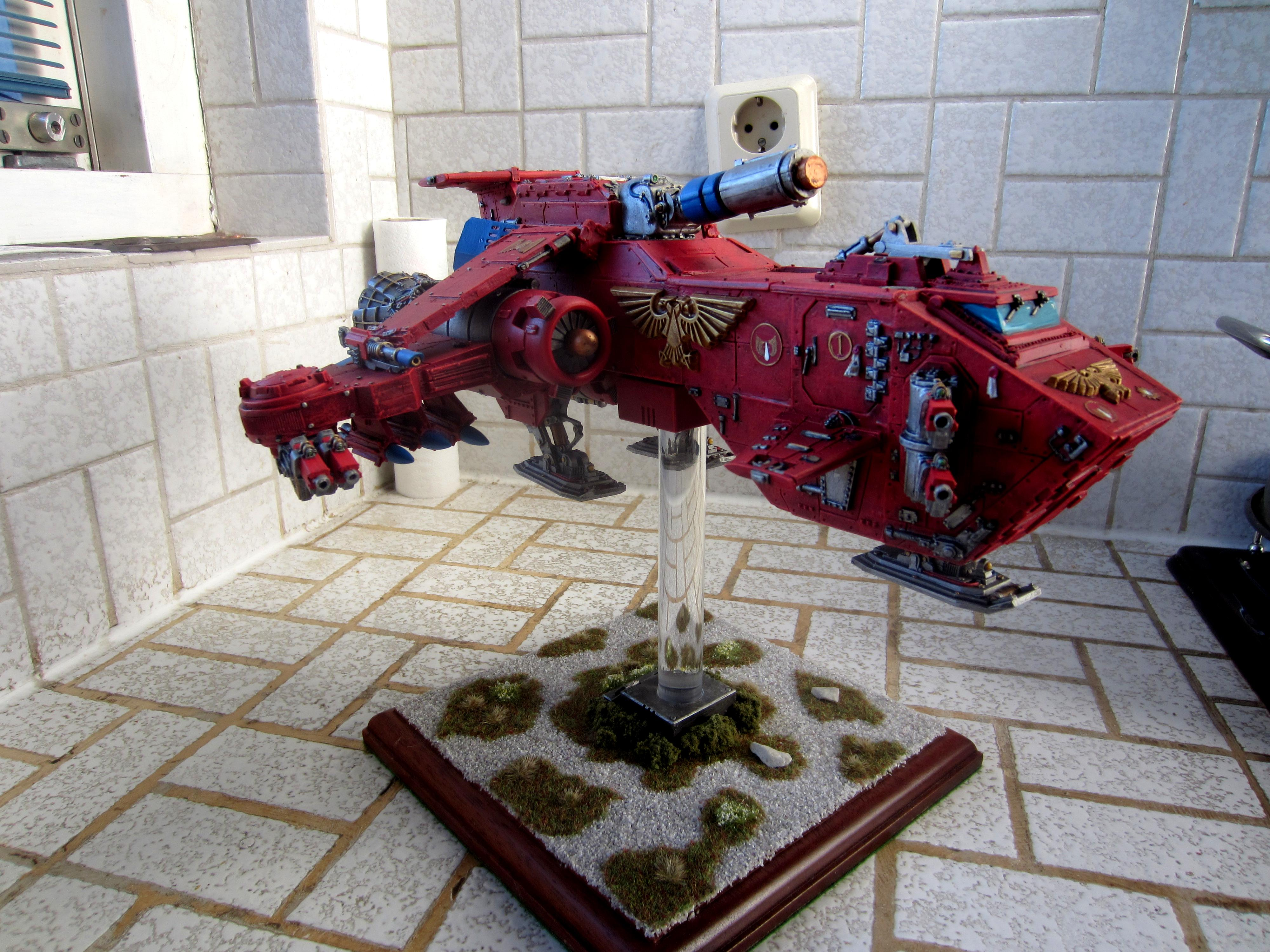 Blood Angels, Metal, Out Of Production, Space Marines, Thunderhawk