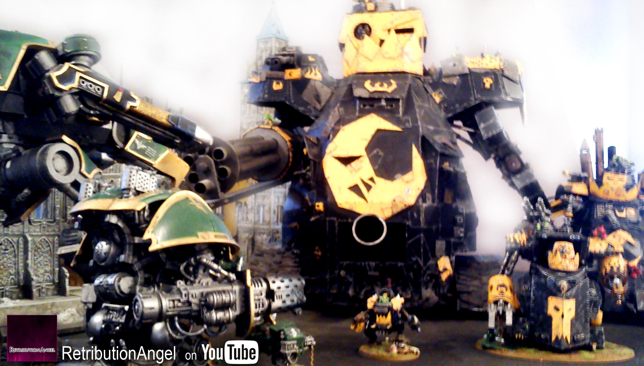 Gorkanout, Great Gargant, Morkanout, Orks, Stompa, Warhammer 40,000