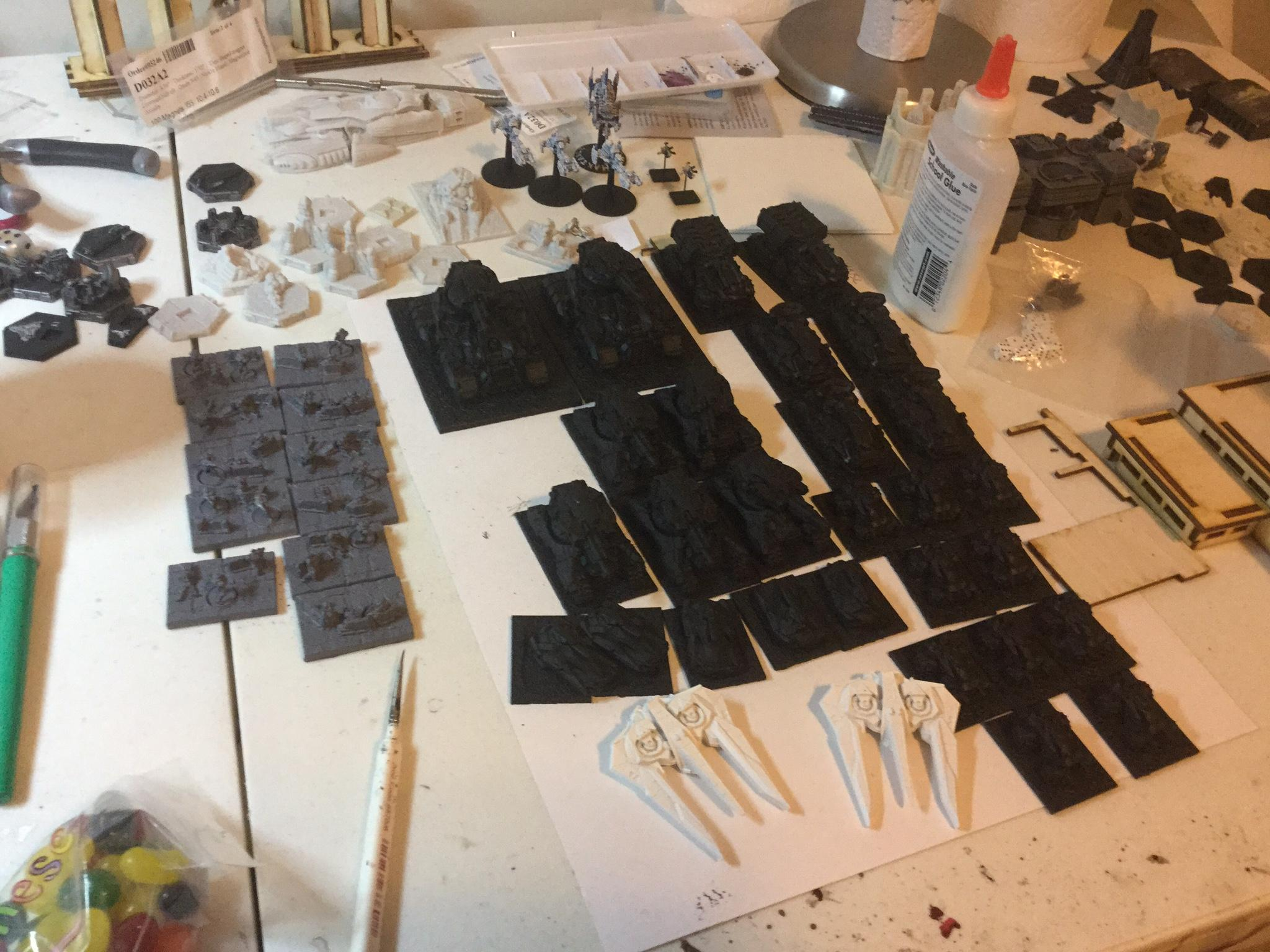 10mm, Firestorm, Planetfall, Sci Fi, Spartan Games