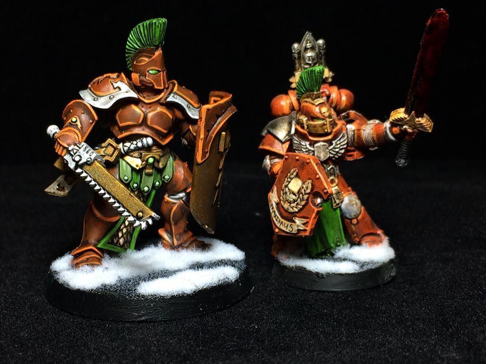 Sigmarines, Space Marines, Thunder Warrior
