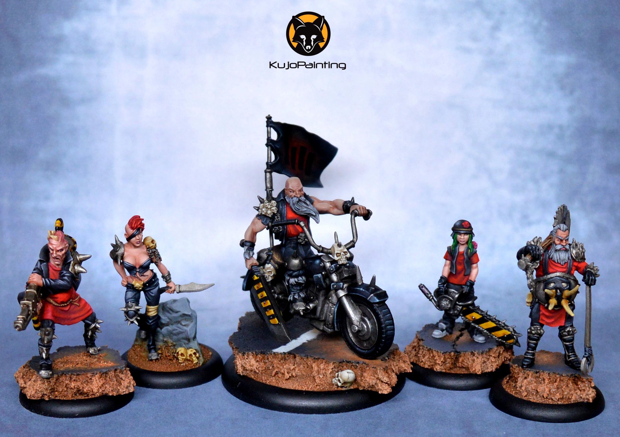 Bike, Gang, Post Apocalypse, Survivor