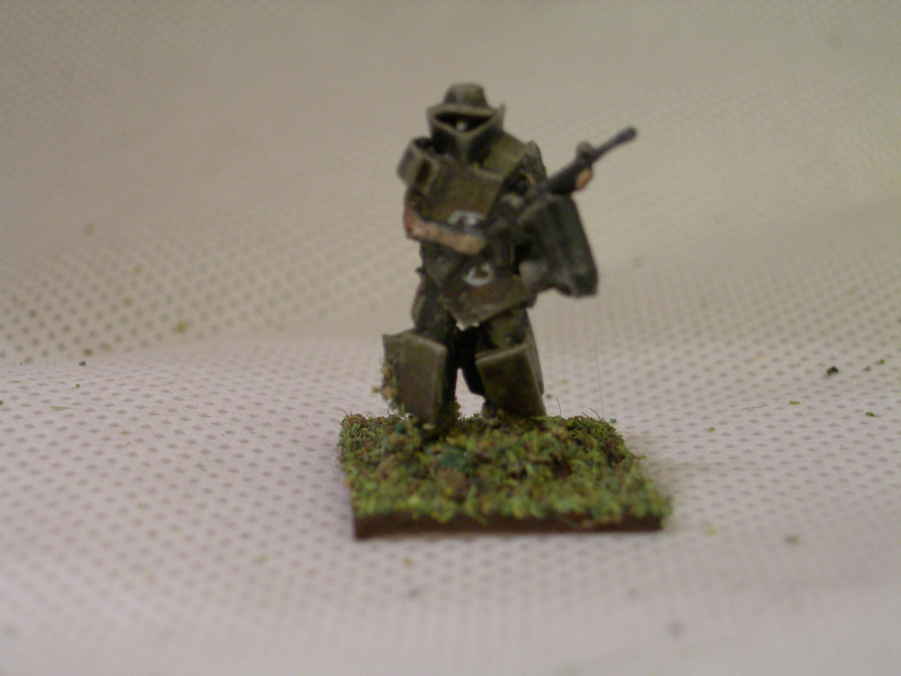 Delta Force sergeant with flamethrower