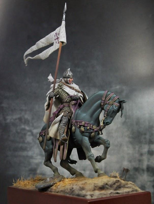 Banner, Horse, Knights