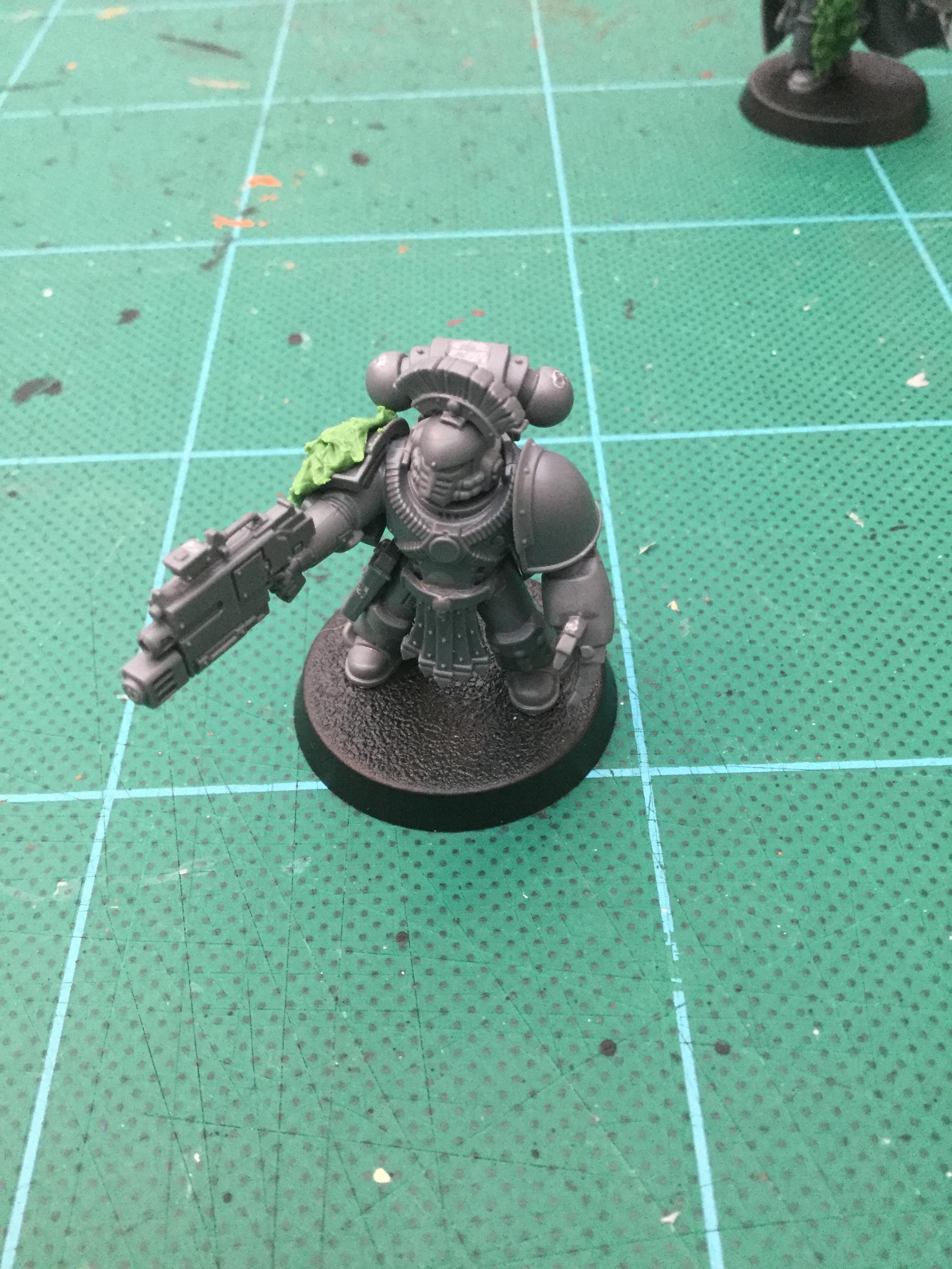 30k, Horus Heresy, Legion, Space Wolves, Work In Progress