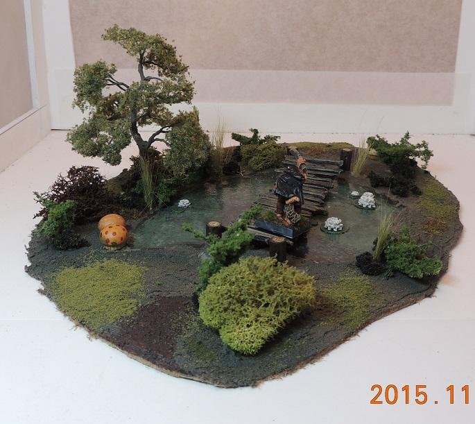 Swamp, Terrain, Swamp Pond