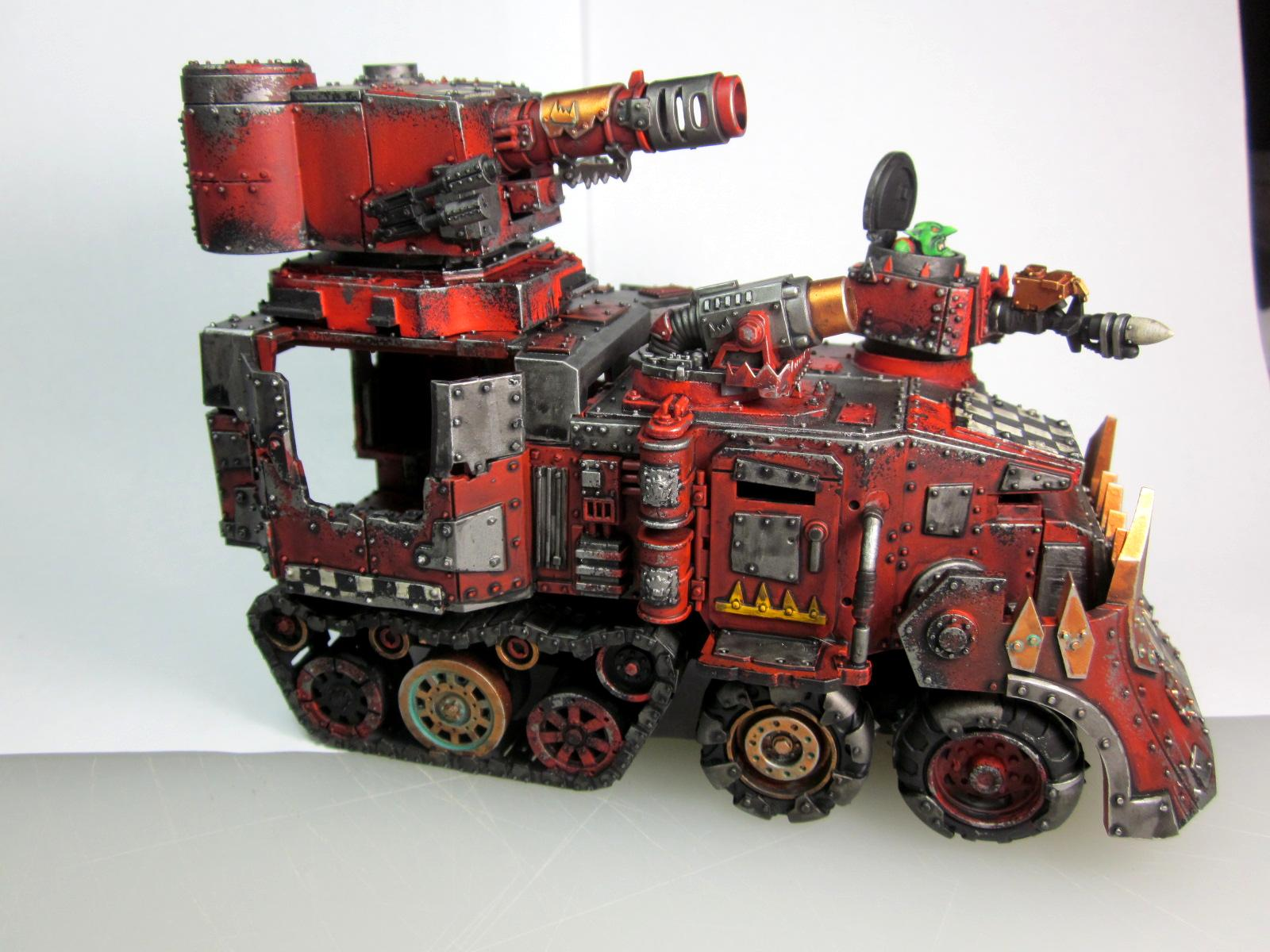 Battlewagon, Cult Of Speed, Freaks, Freeks, Orks, Speed, Speed Freeks, Wagon