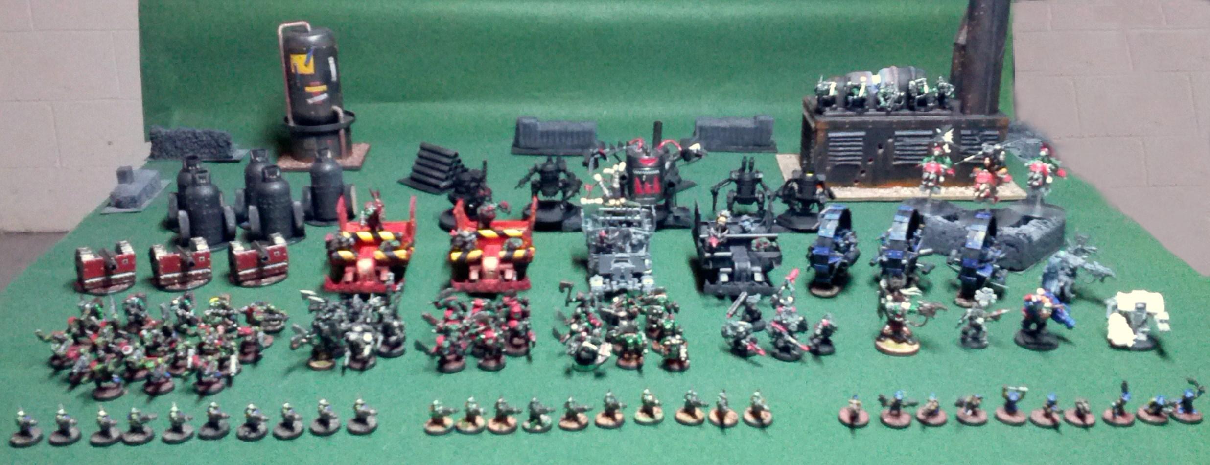 Army, Orks, Ork Army 2015
