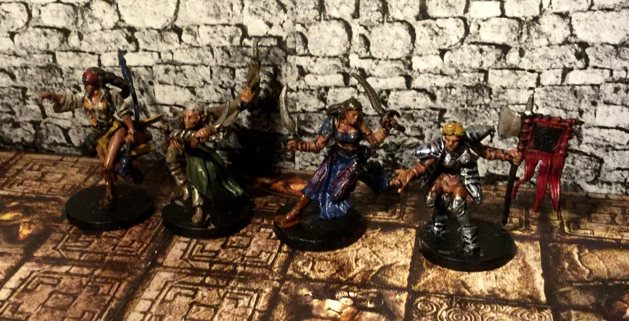 Descent, Ffg, Crusade of the Forgotten - Heroes