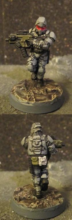 Commando, Infantry, Infinity, Republic