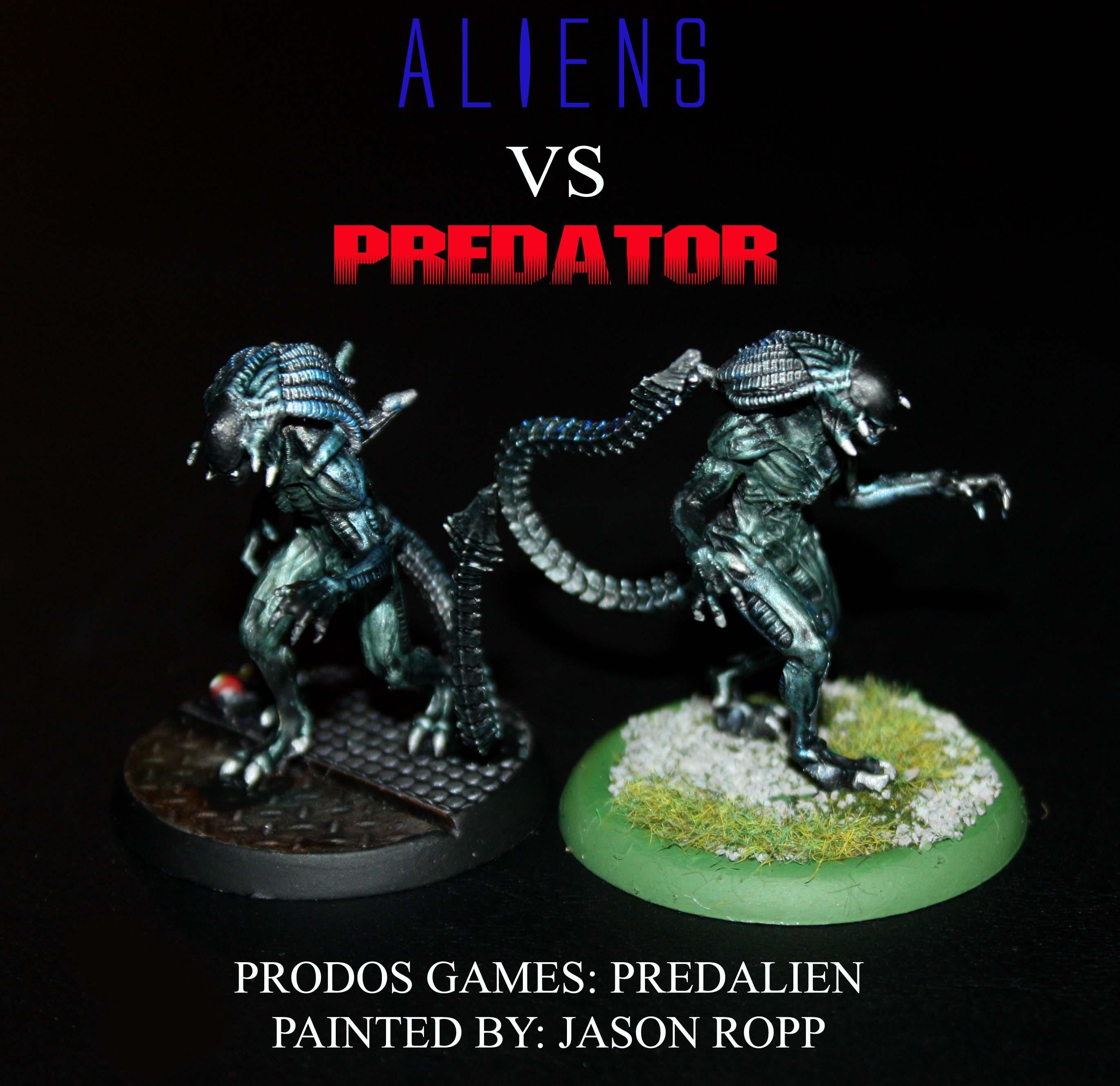 Alien, Aliens, Avp, Pred, Predalien, Predator, Prodos Games, Terminator Armor, Wargamer, Water Horse Games