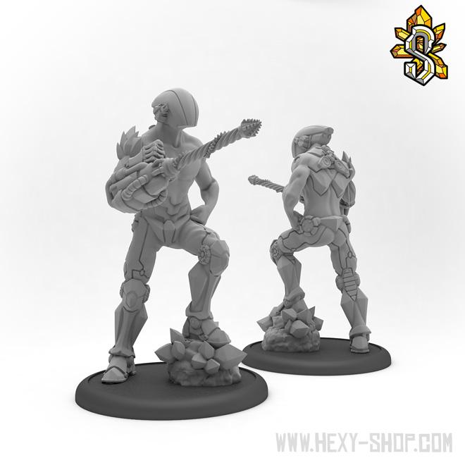 28mm, Figures, Hexy, Miniatures, Star Scrappers
