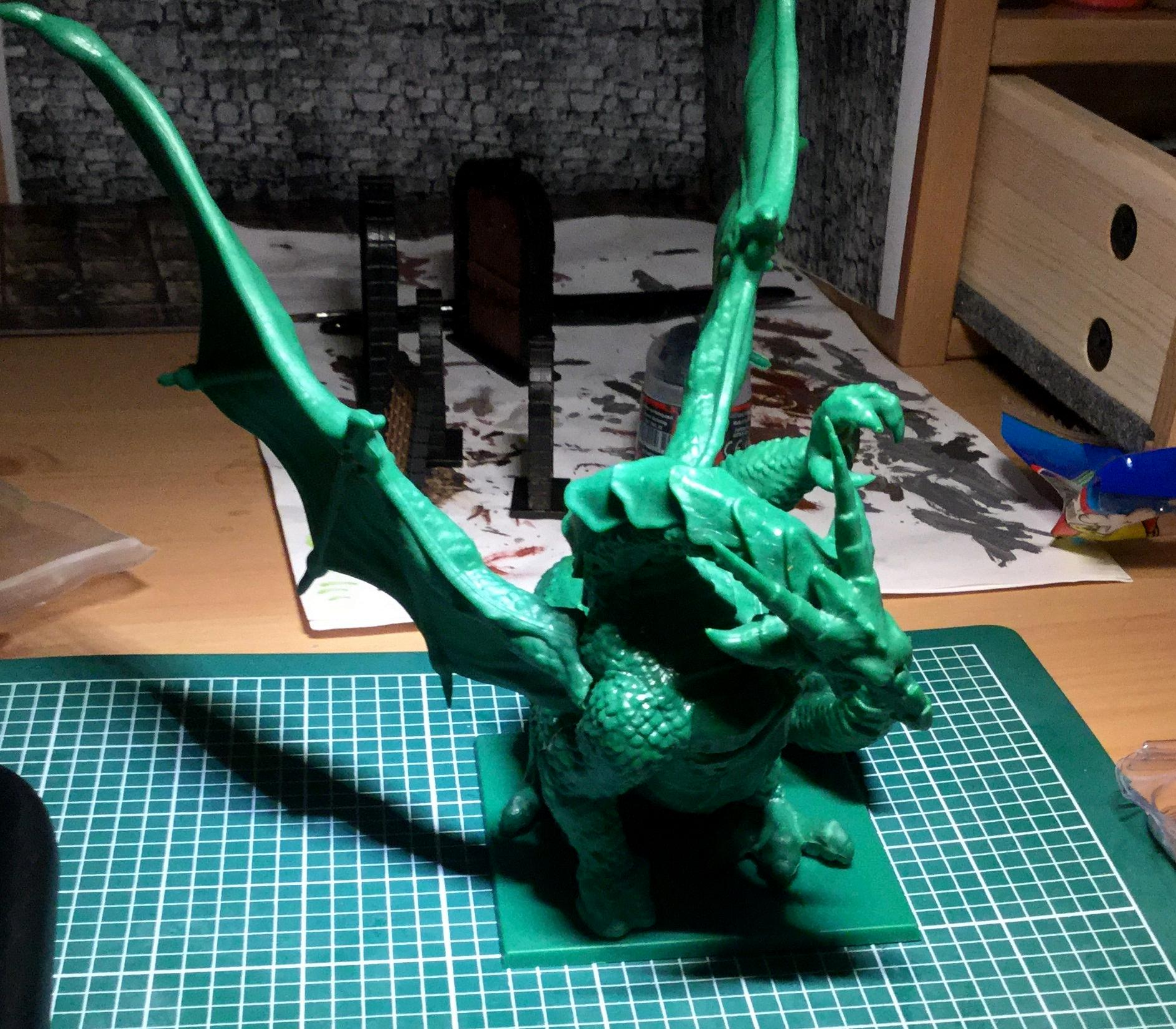 Unpainted Dragon