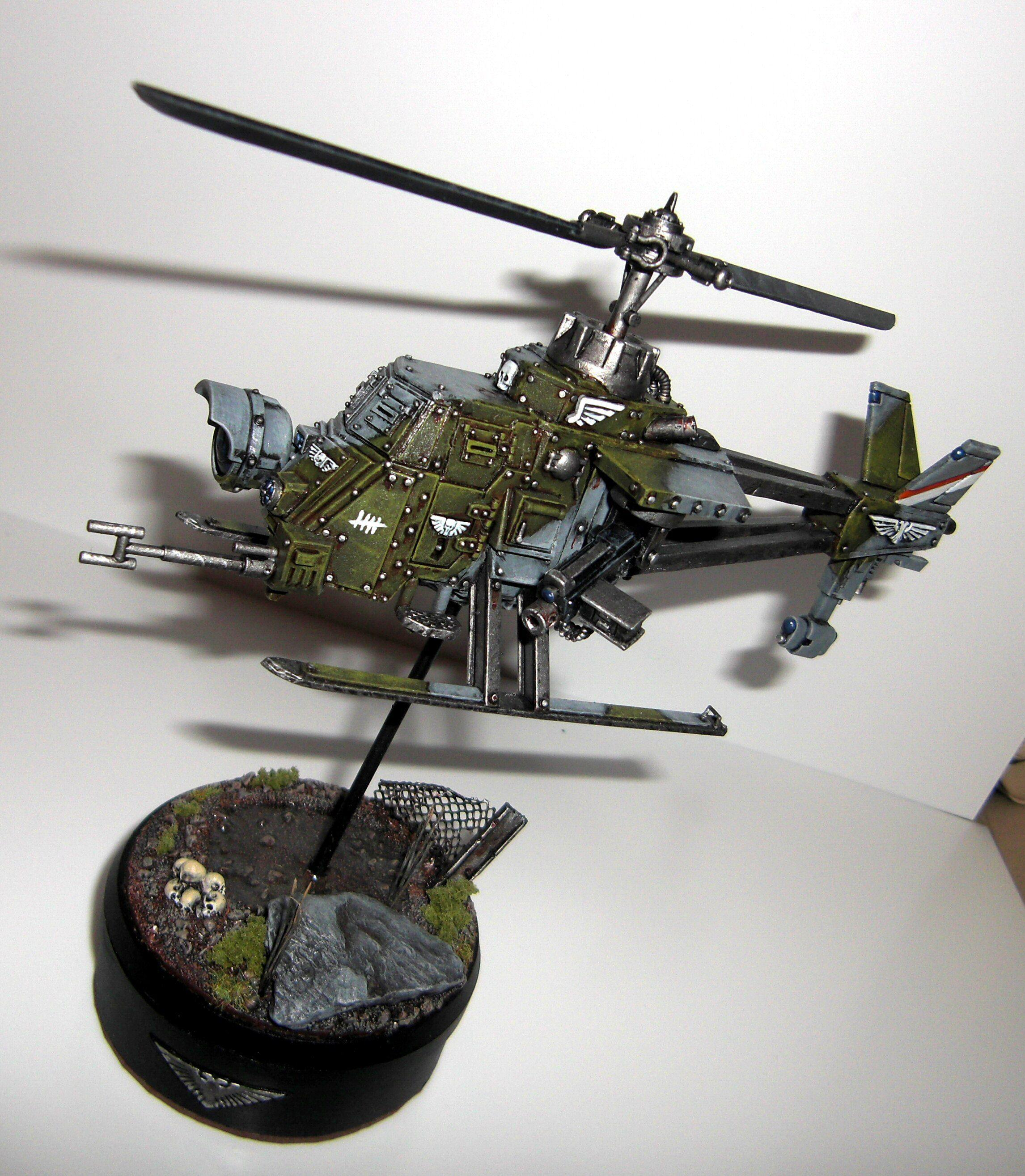 Conversion, Helicopter, Imperial Guard, Sentinel