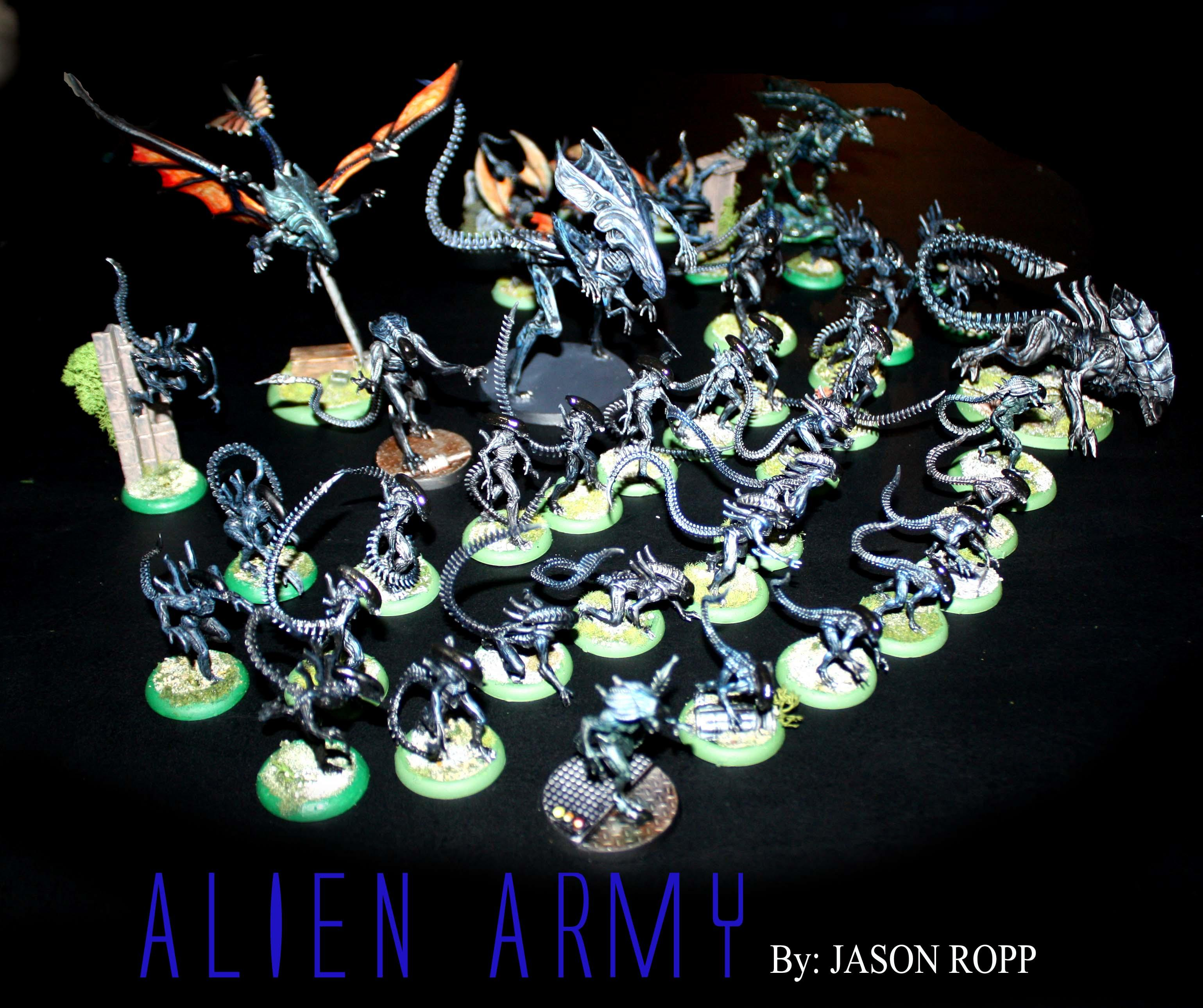 28mm, 32mm, Alien, Alienids, Army, Avp, Crusher, Flying Queen, Game, Prodps, Stalkers, Tyranids, Wargame, Wargamer, Warriors, Xenomorph