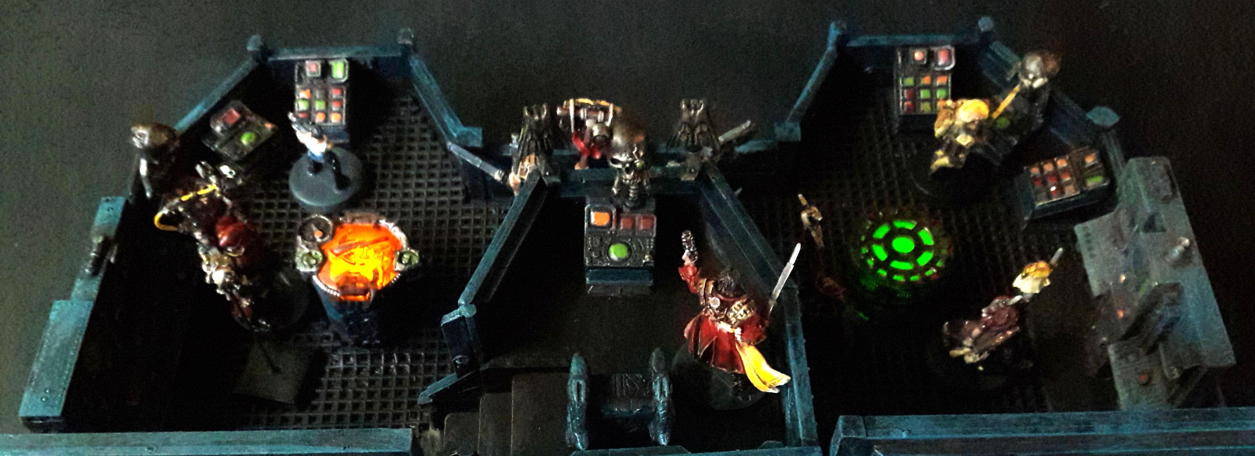 Bridge, Cruiser, Rogue Trader, Scratch Build, Terrain, Warhammer 40,000