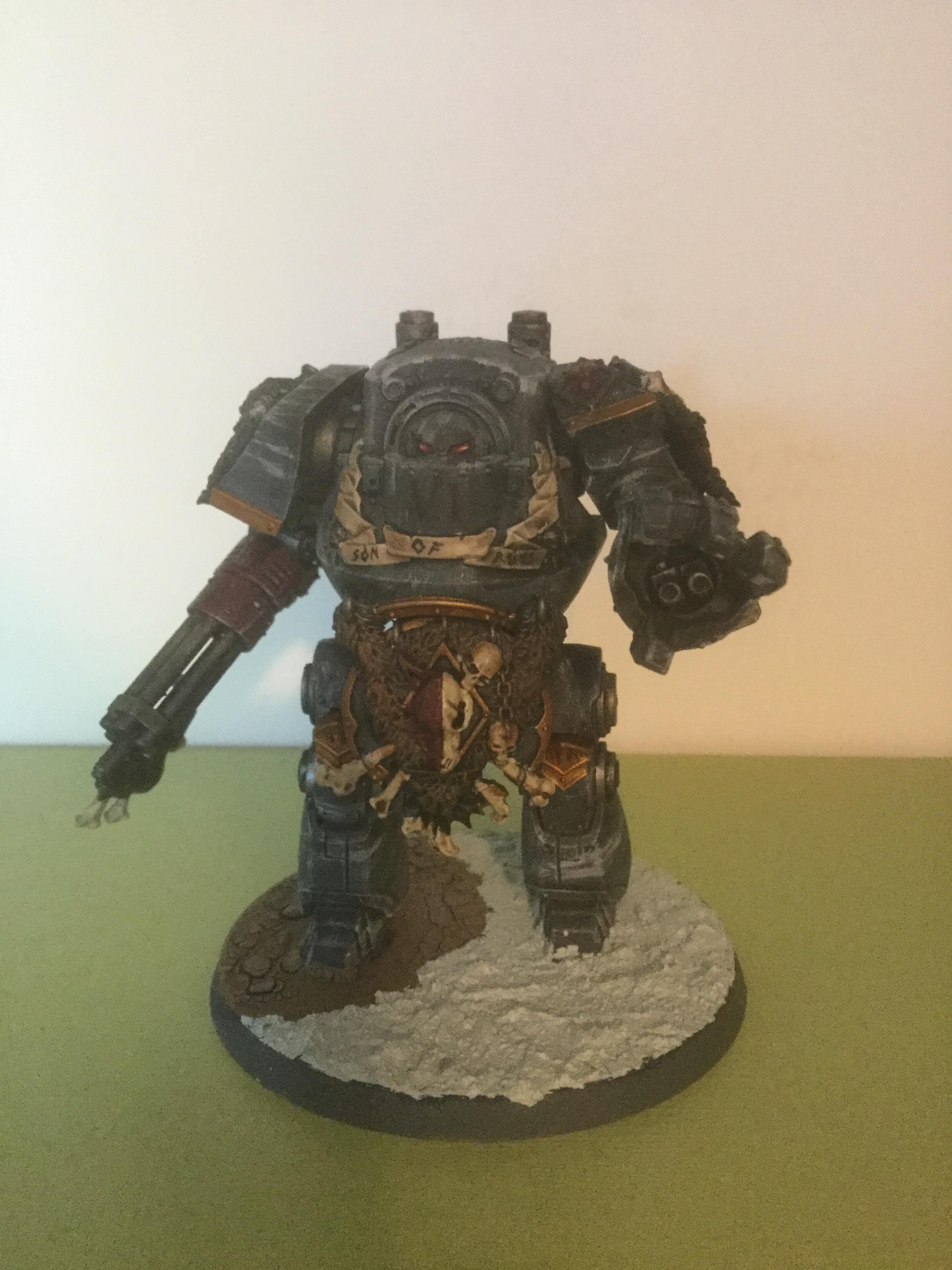 30k, Contemptor Dreadnought, Space Wolves