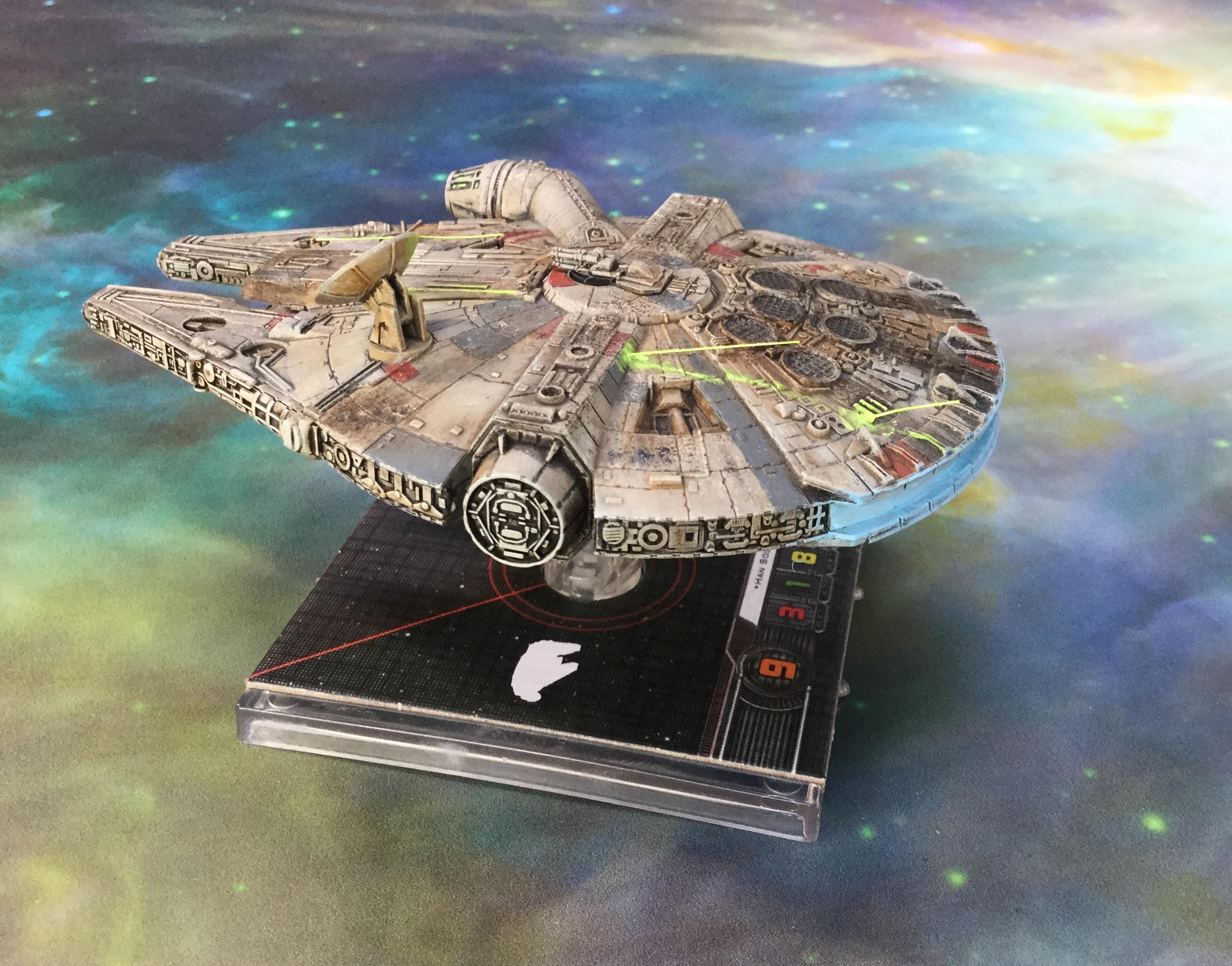 Falcon, Millenium, Star, Wars