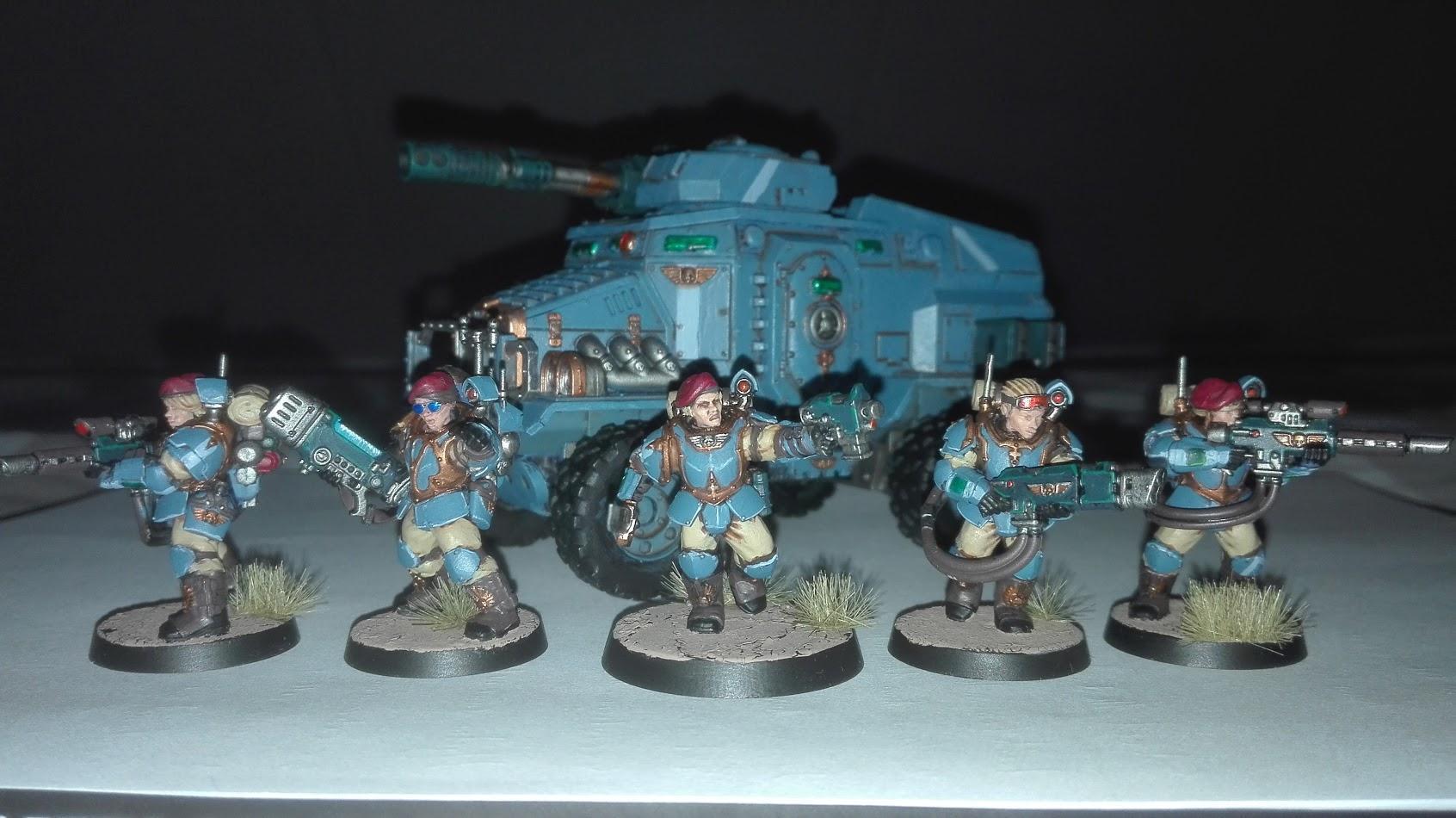 Astra Militarum, Scions, Taurox