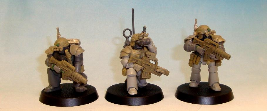 Carcharodons, Comms, Conversion, Kill Team, Lotd, Seal, Seals, Space Marines, Space Sharks