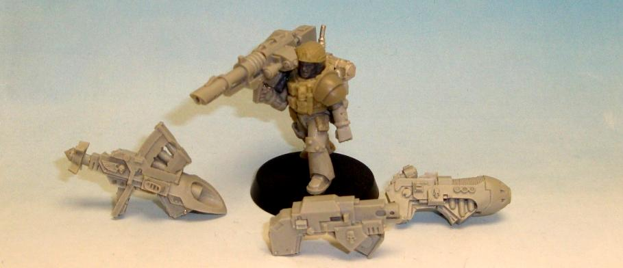 Carcharodons, Conversion, Heavy Weapon, Kill Team, Lotd, Magnet, Seal, Seals, Space Marines, Space Sharks