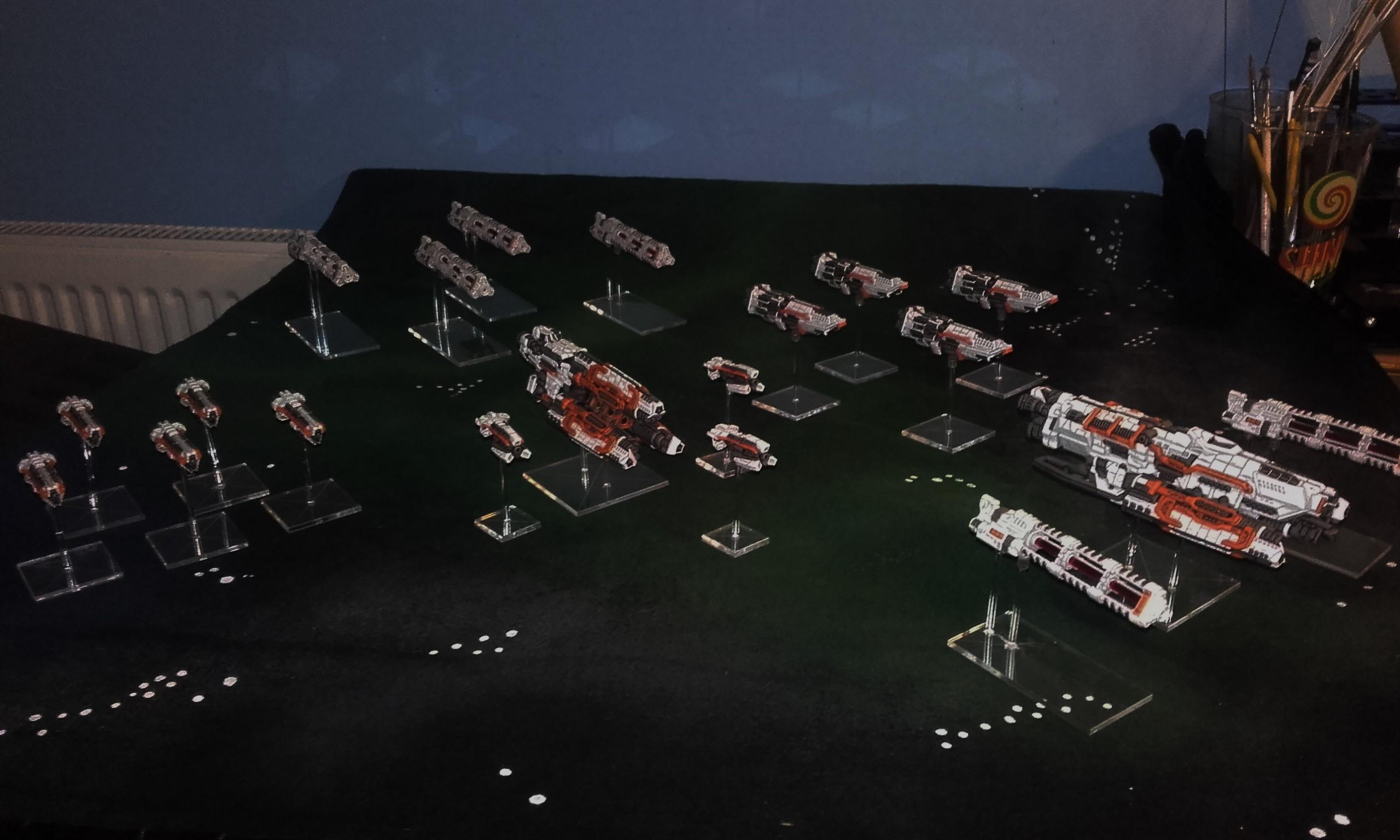 Firestorm Armada, Xelocian Fleet