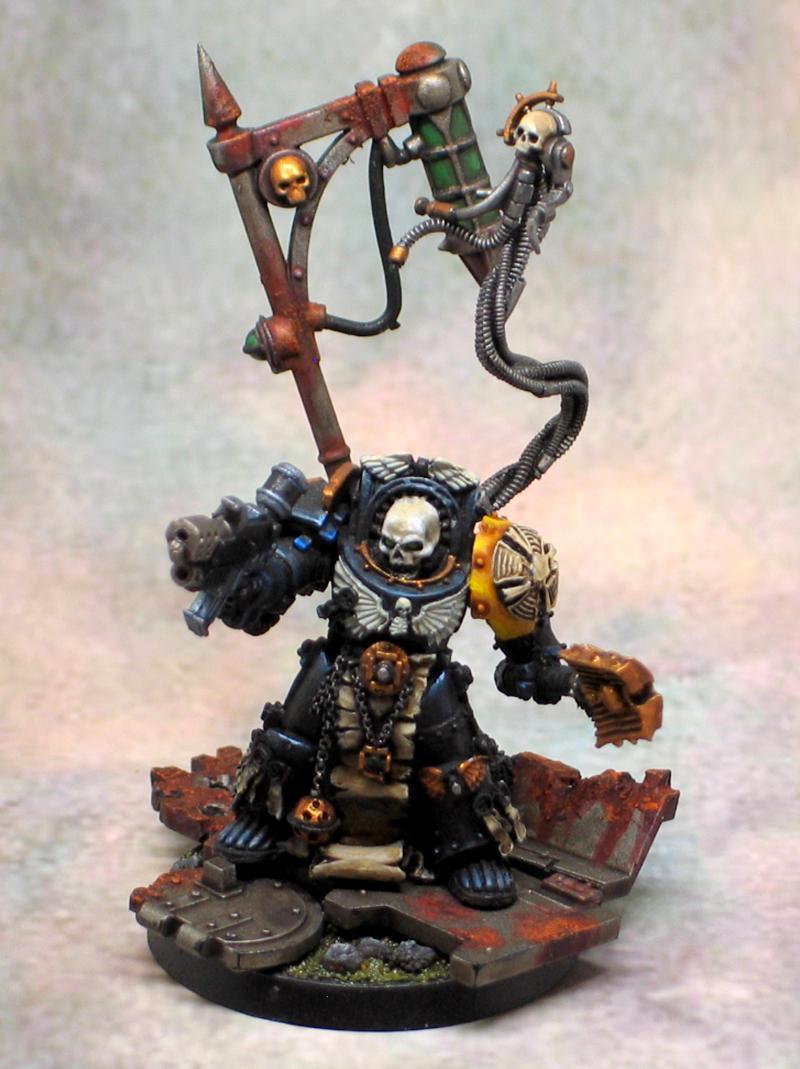 Chaplain, Combi-flamer, Terminator Armor