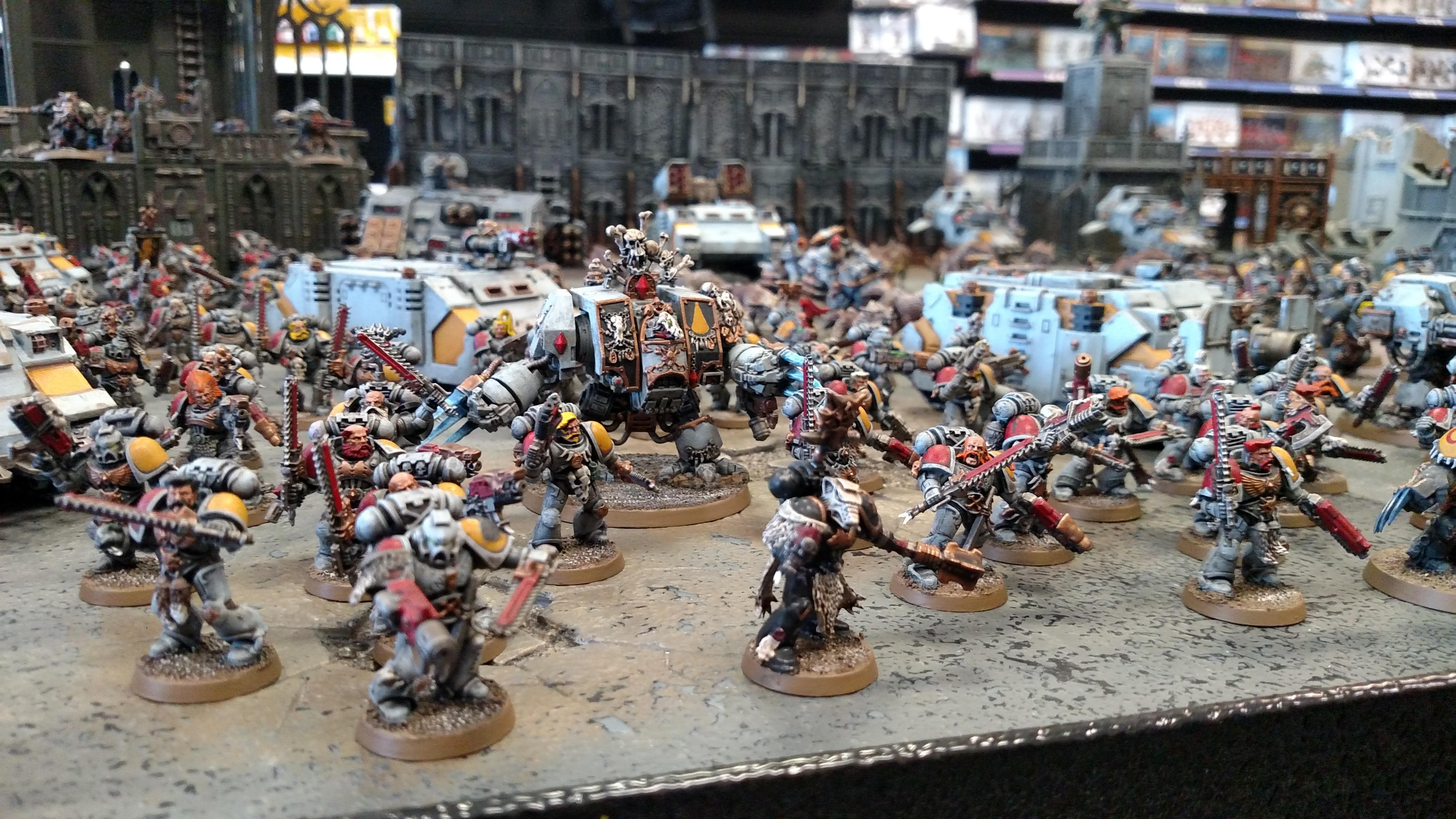 Army, Space Marines, Wolf